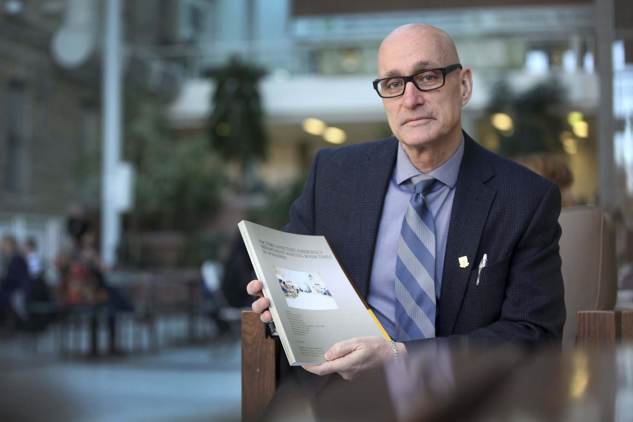 RUTH BONNEVILLE / WINNIPEG FREE PRESS</p><p>Dr. Malcolm Doupe is the lead author in the study, Factors Affecting Emergency Department Waiting Room Times in Winnipeg.</p>