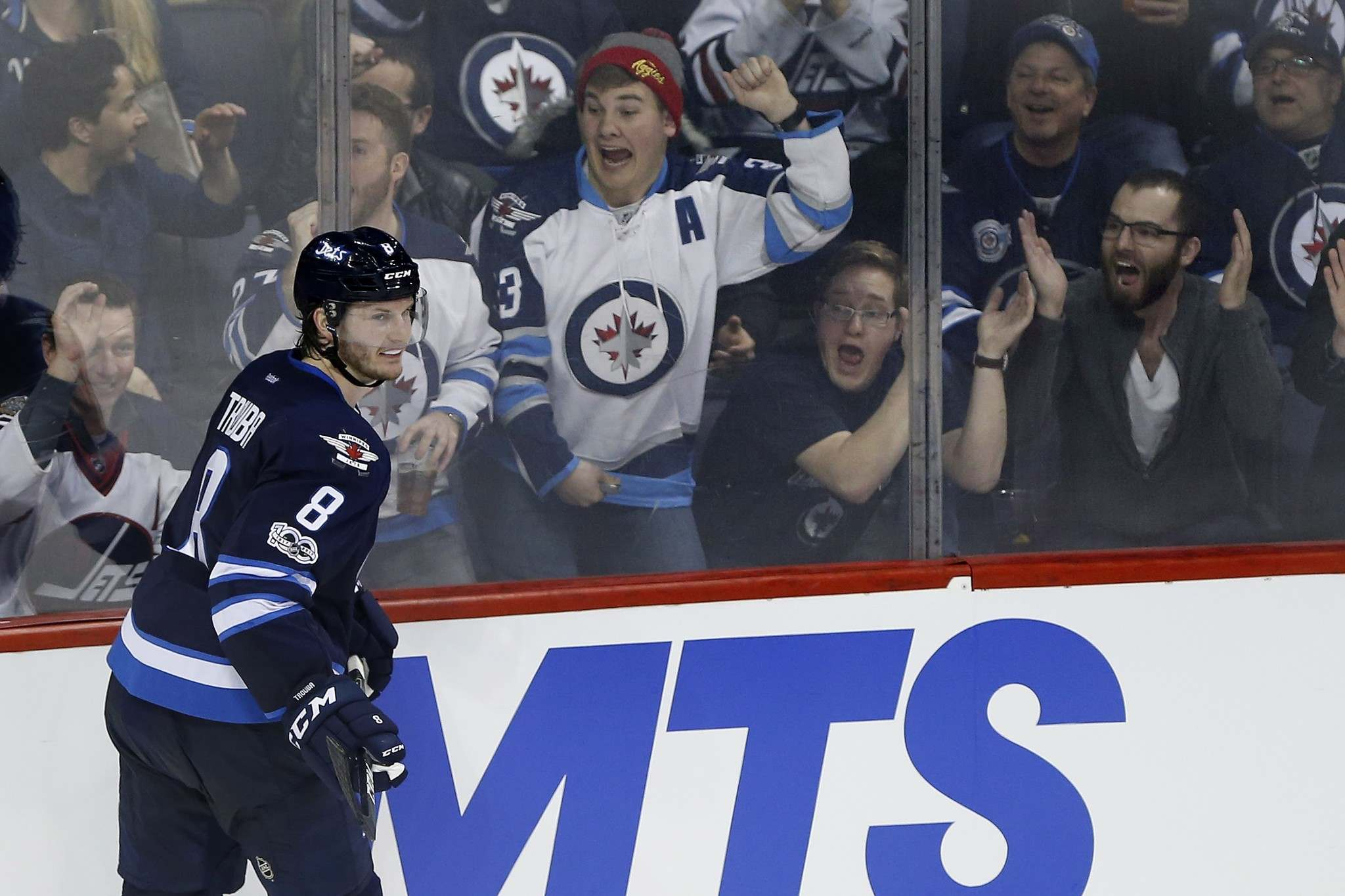 JOHN WOODS / THE CANADIAN PRESS FILES</p><p>Winnipeg Jets' Jacob Trouba says he hasn't really put much thought into extending his current contract with the team.</p>