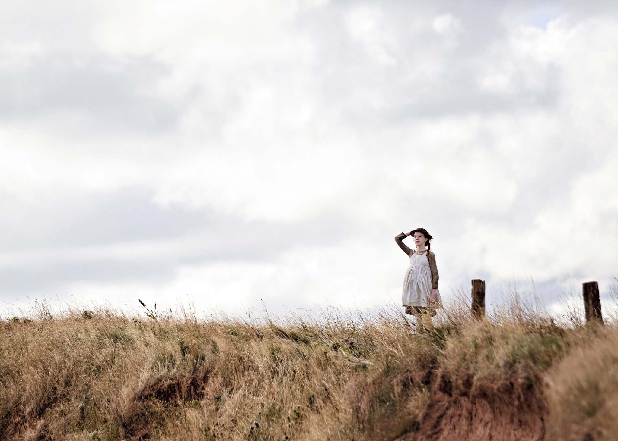 Amybeth McNulty as Lucy Maud Montgomery&#39;s beloved character Anne Shirley.</p>