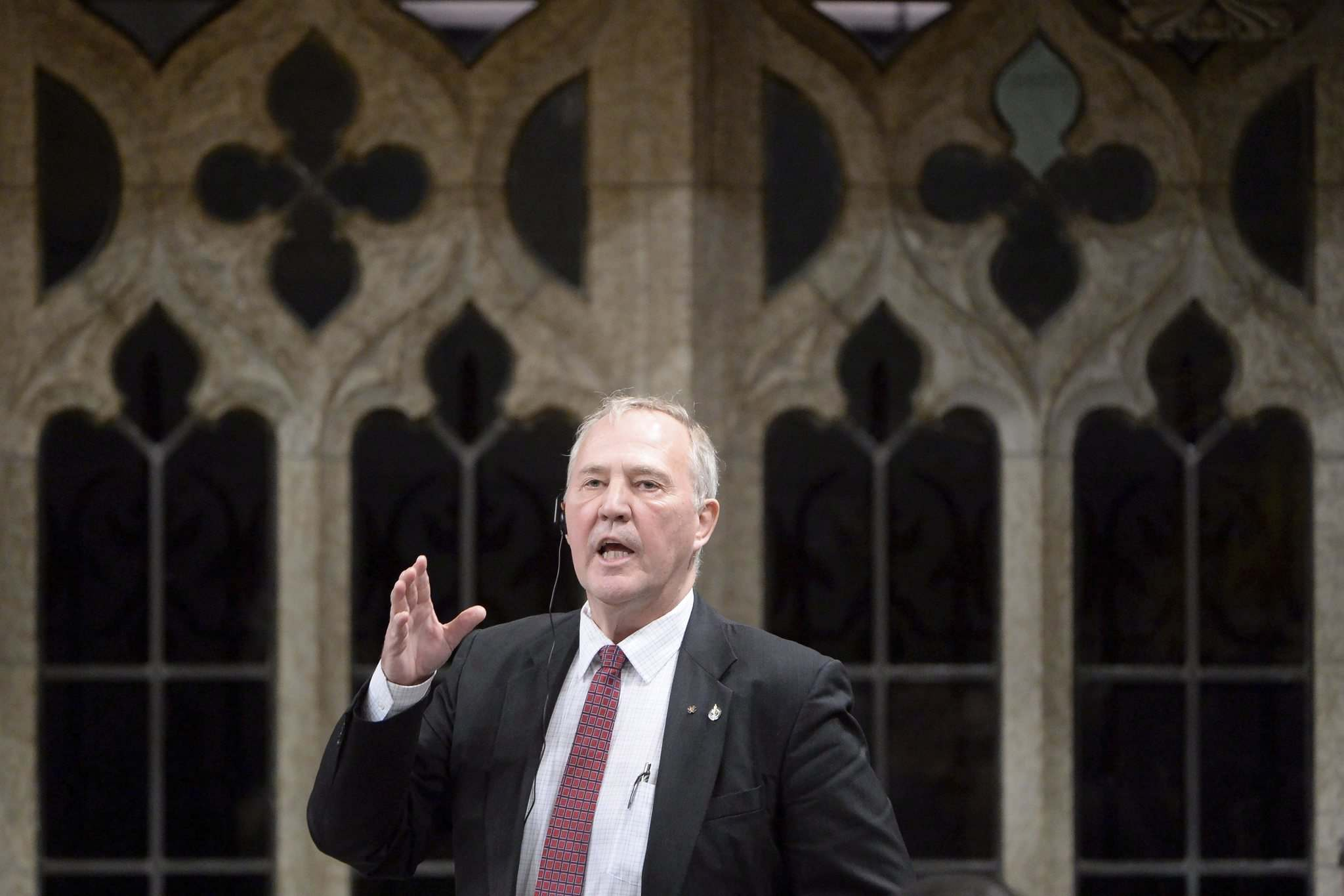Adrian Wyld / The Canadian Press</p><p>Liberal MP Bill Blair a question during Question Period in the House of Commons on Parliament Hill in Ottawa, on Thursday, Feb.25, 2016.</p>