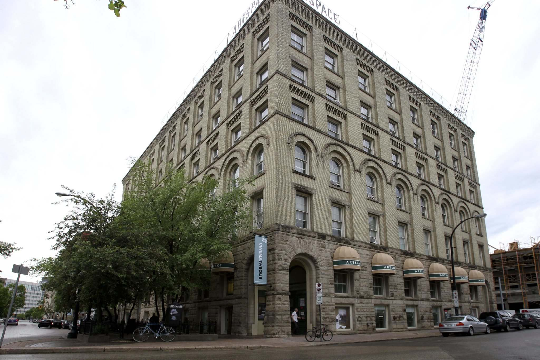 <p> The Artspace building at 100 Arthur St. in the Winnipeg&#39;s exchange district.</p>