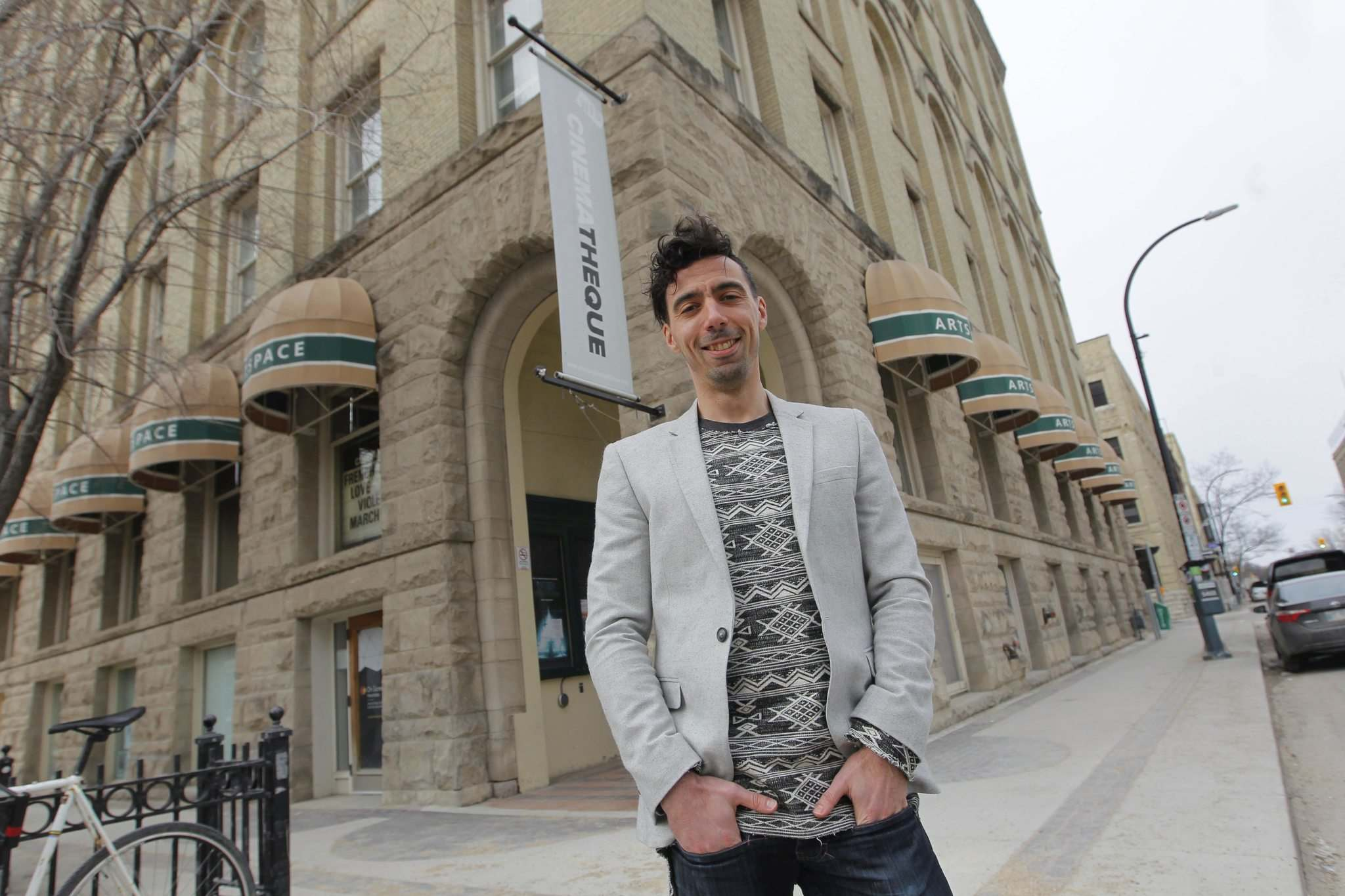 <p>Artspace executive director Eric Plamondon says the building hasn't lost a tenant in 23 years.</p></p>
