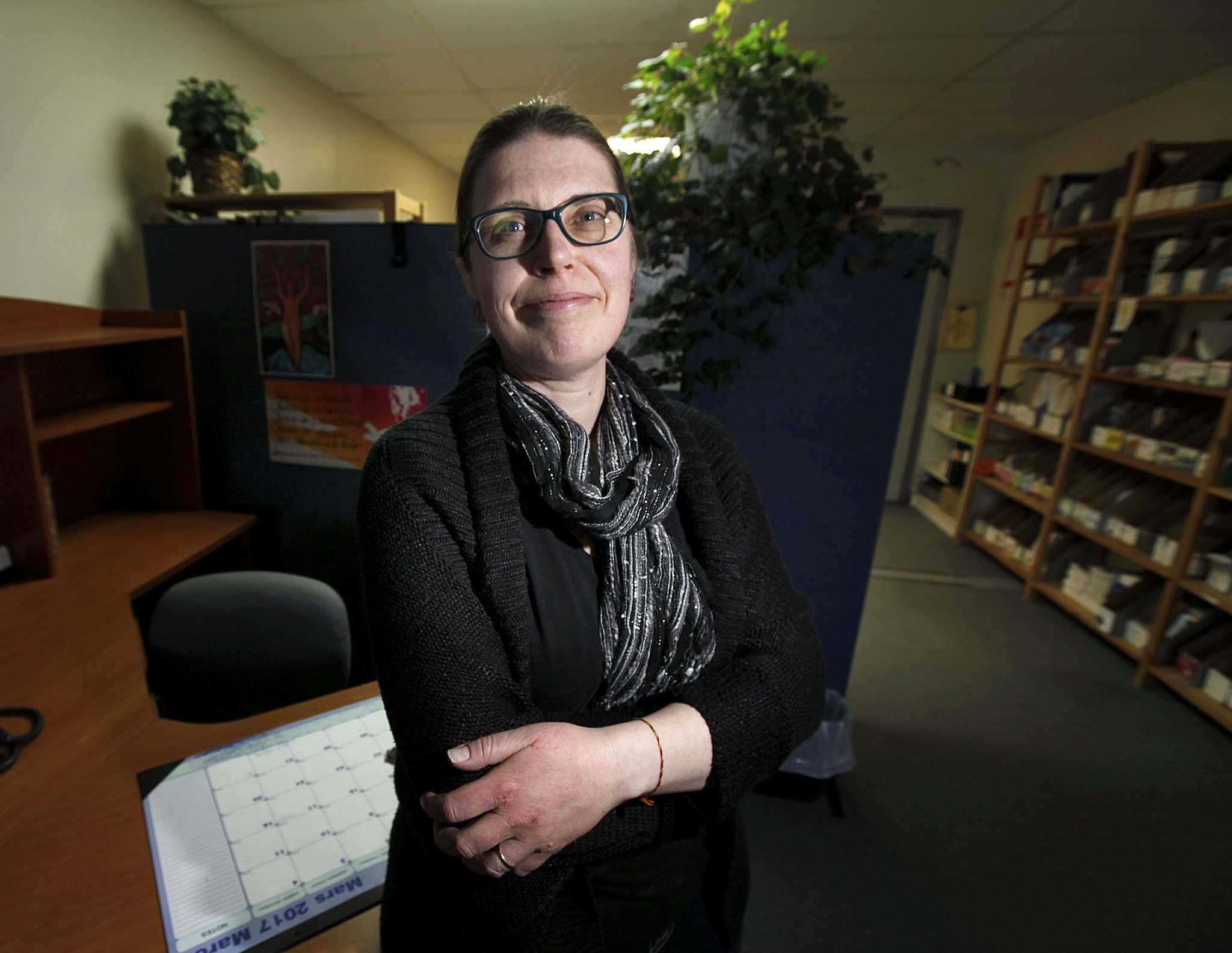 <p>Leigh Anne Caron, director of health services, says the Women's Health Clinic is hoping to offer Mifegymiso to patients as soon as this summer.</p>