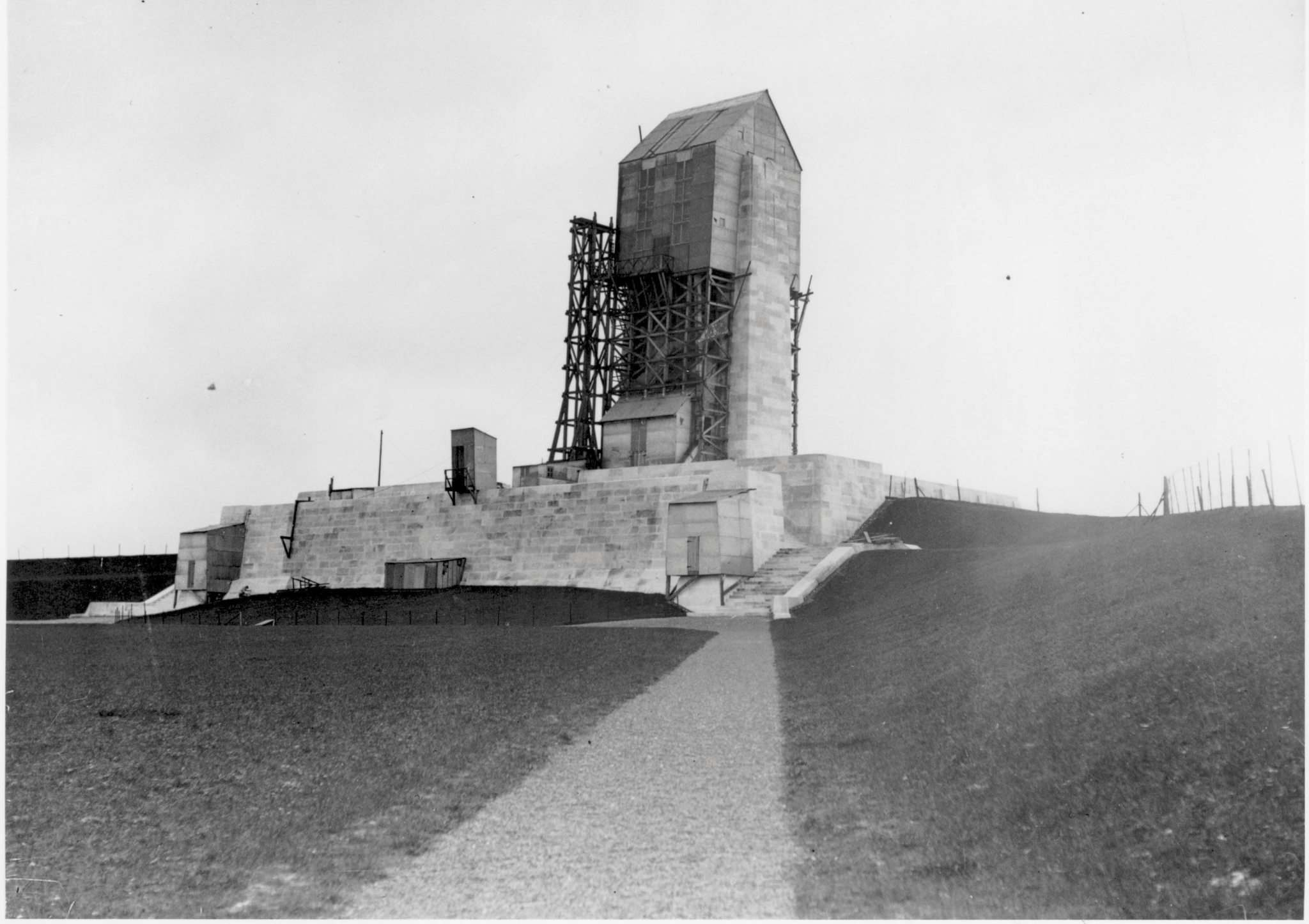 <p>It took several years to construct the Vimy memorial.</p></p>
