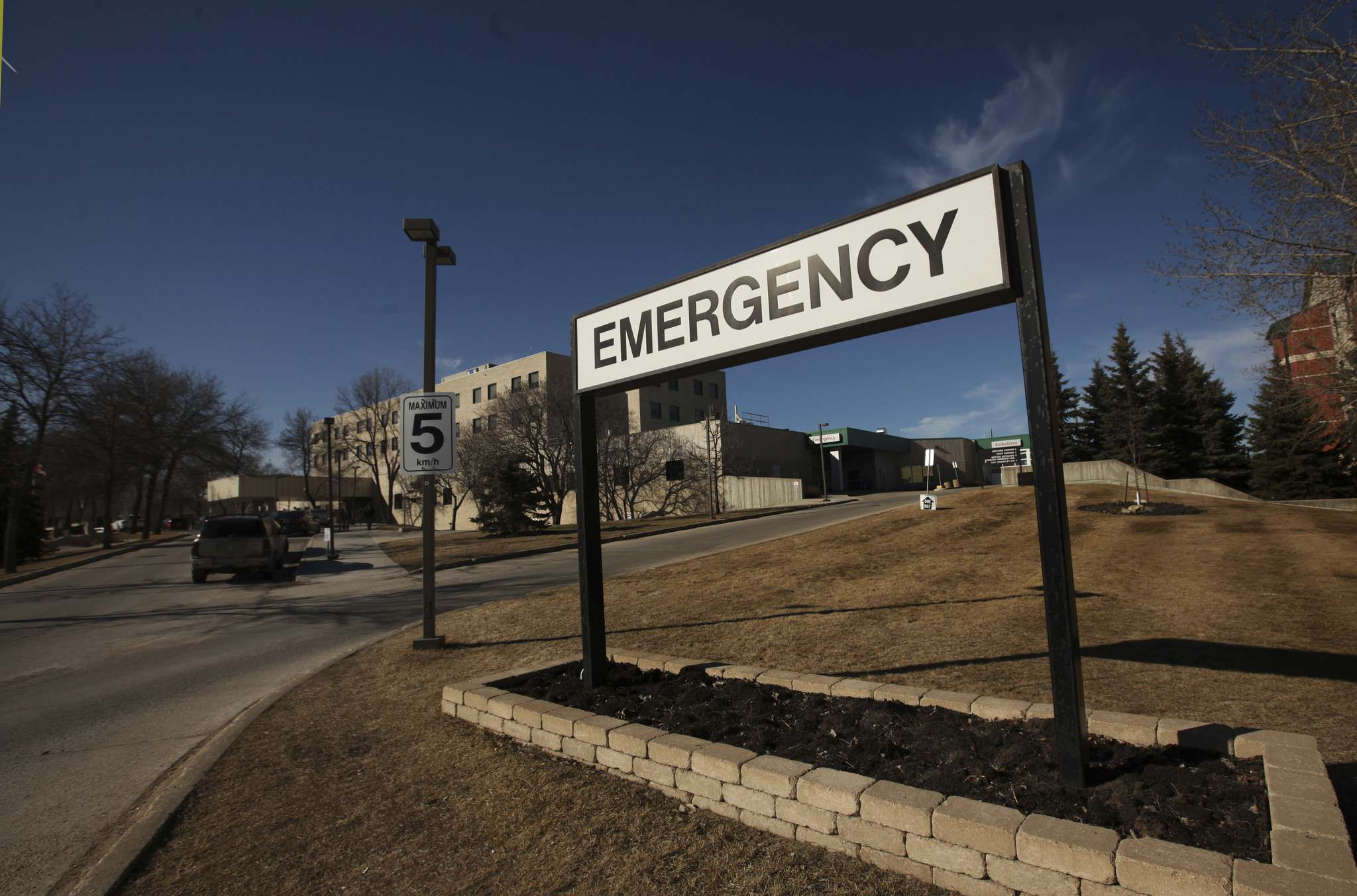 RUTH BONNEVILLE / WINNIPEG FREE PRESS</p><p>Concordia Hospital its Emergency.</p>