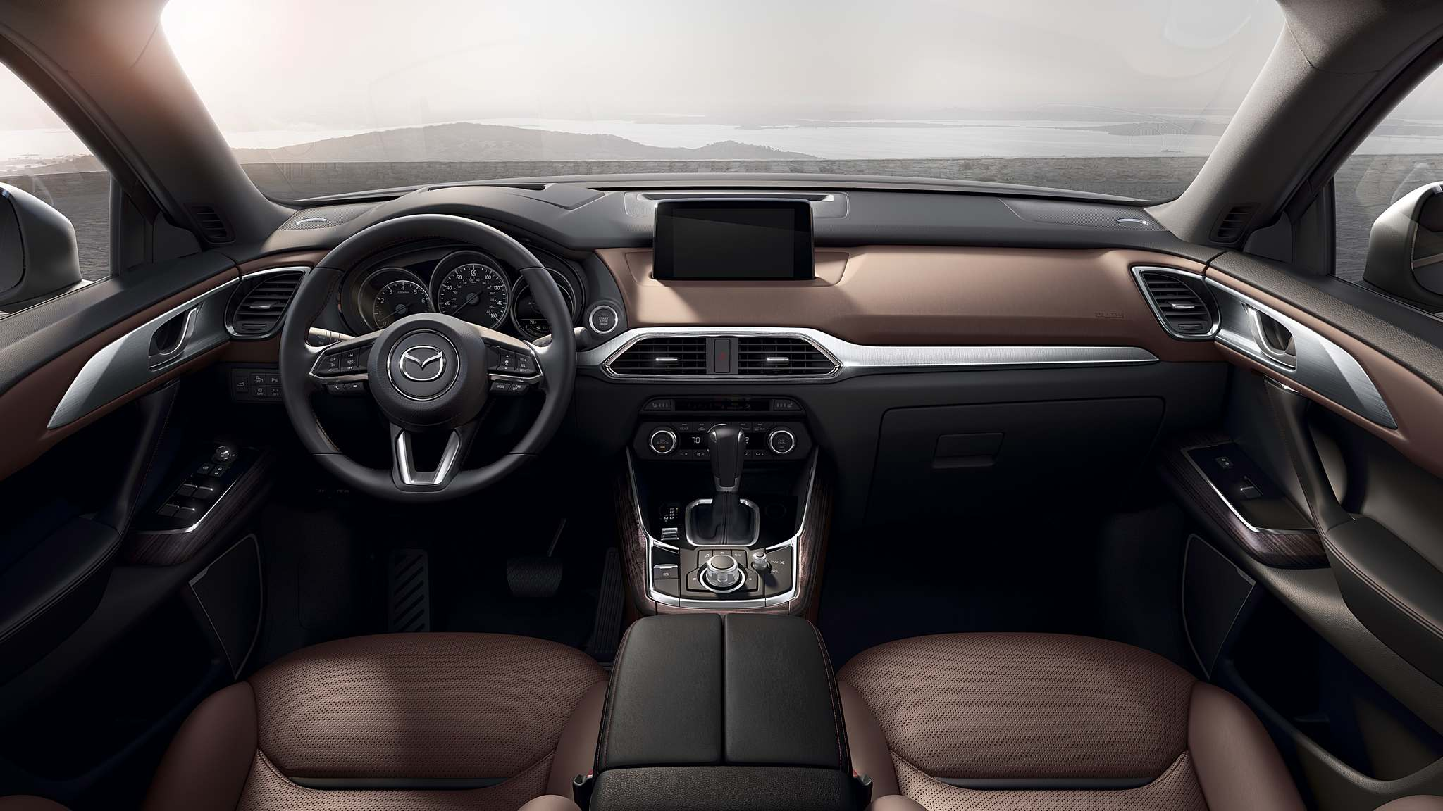 Photos by Mazda CanadaThe 2017 Mazda CX-9 has a comfortable interior, with a design and materials that are superb.