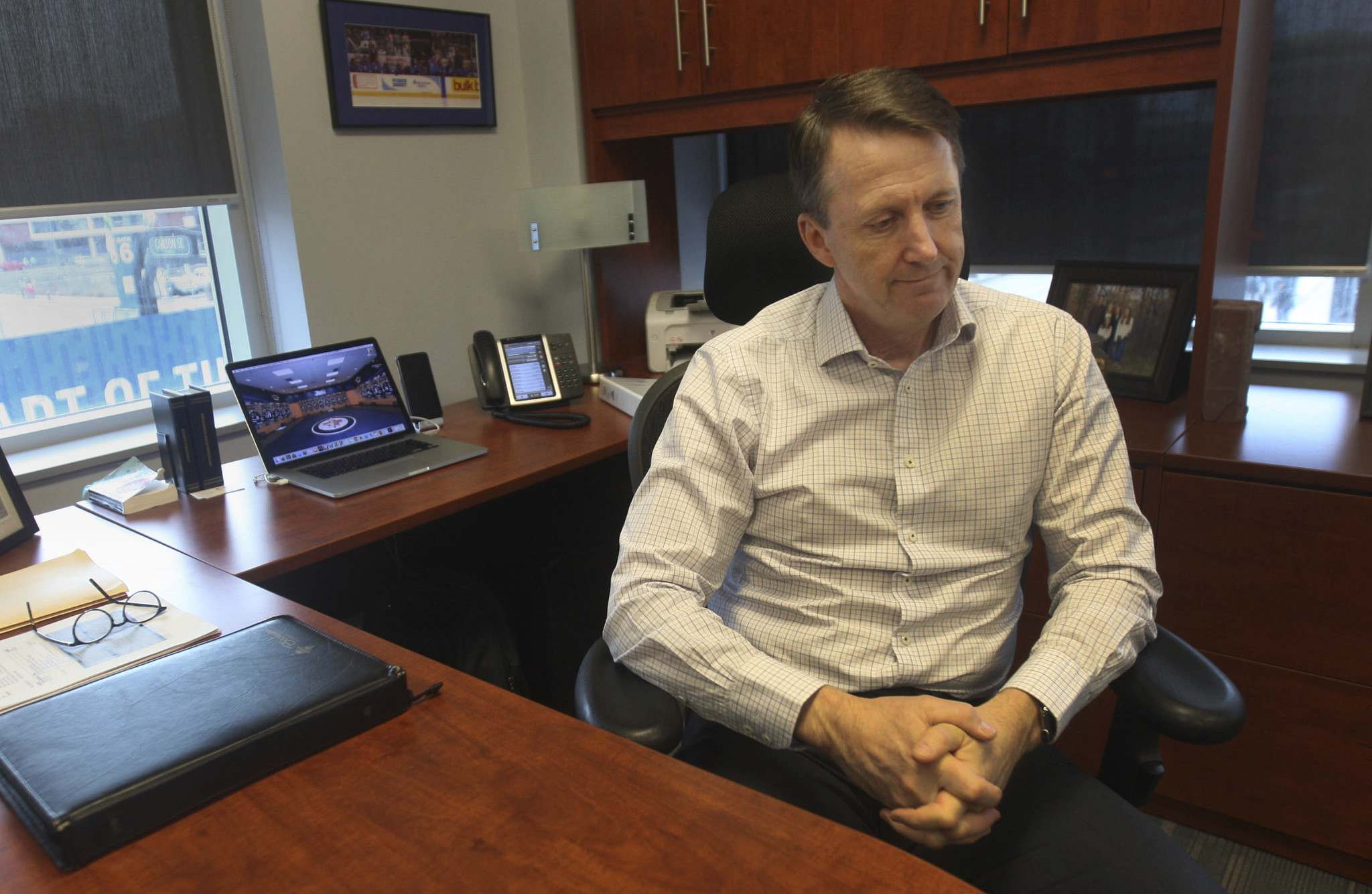 JOE BRYKSA / WINNIPEG FREE PRESS FILES</p><p>Mark Chipman, executive chairman of the board of True North Sports & Entertainment in his office at the end of the 2016 season.</p>