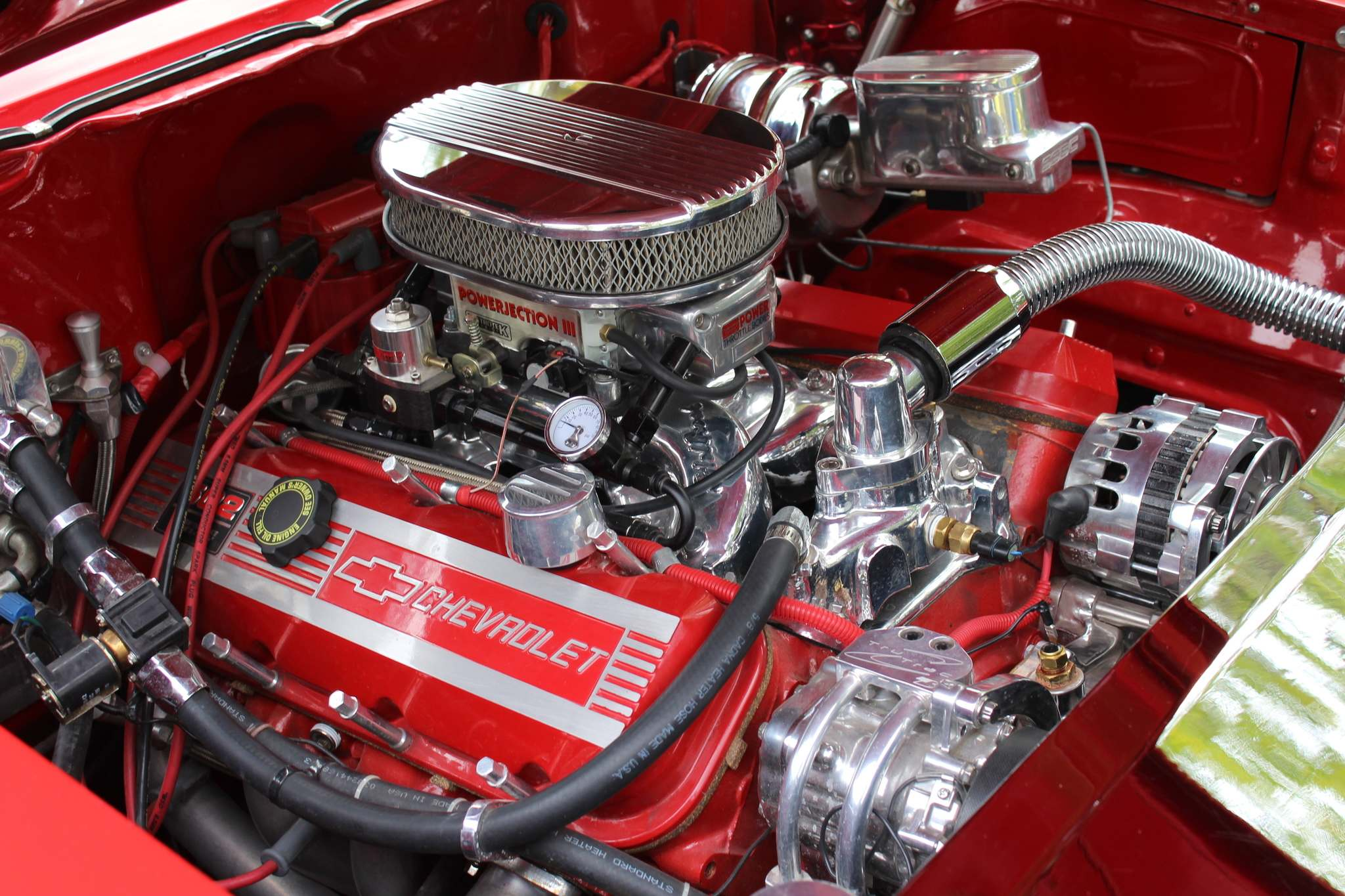 LARRY D'ARGIS / WINNIPEG FREE PRESSThe new engine is a ZZ 502-cubic-inch big block Chevrolet engine that puts out 508 horsepower.