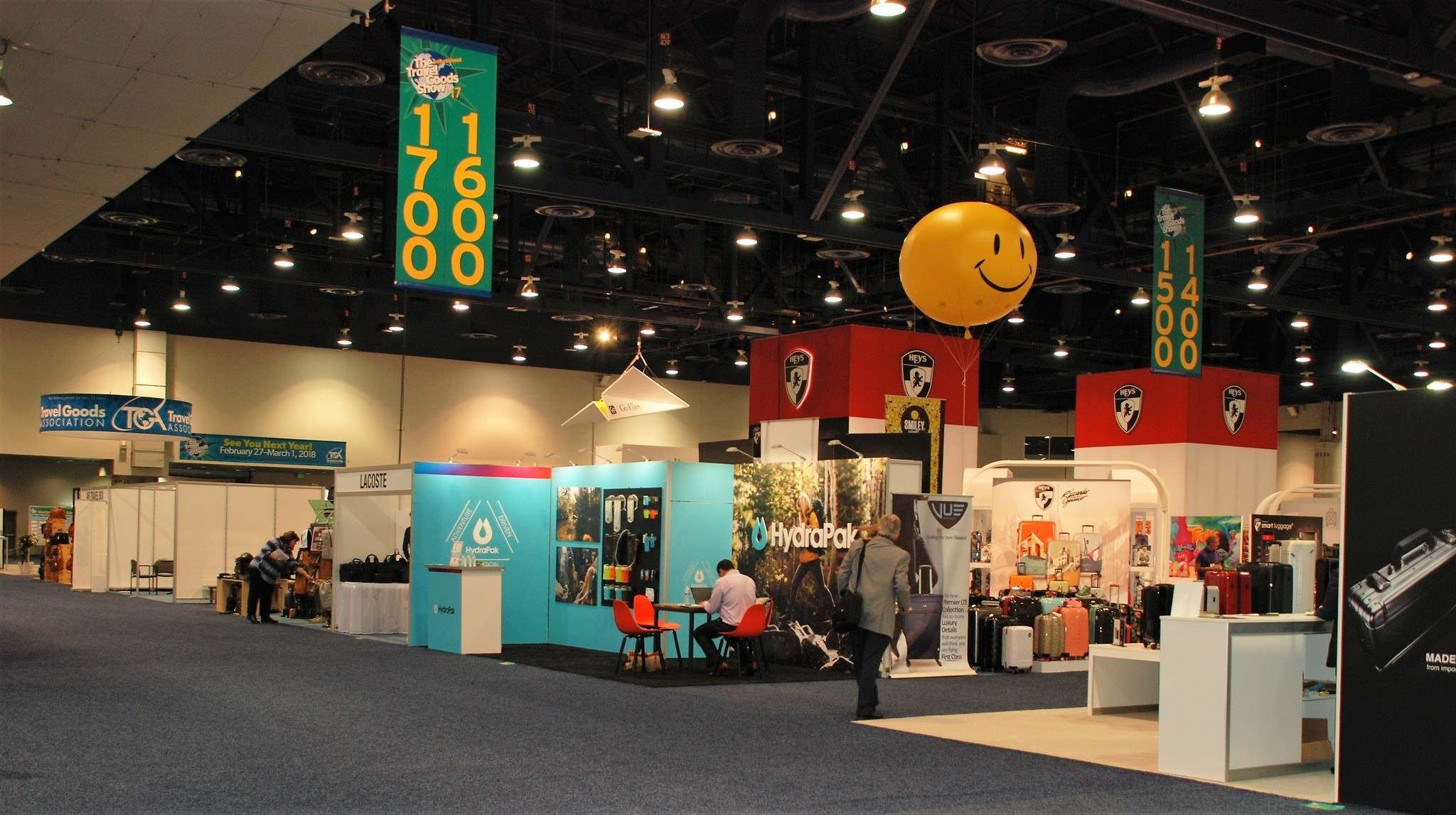 It is at the annual Travel Goods Association show in Las Vegas where the newest travel products are introduced.</p>