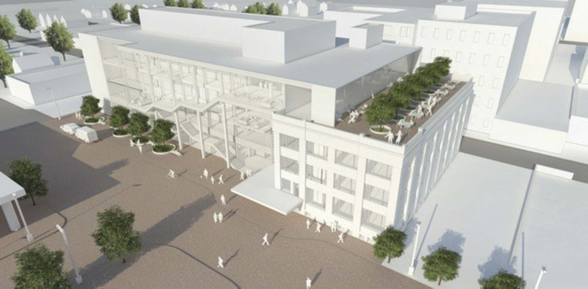 Rendering of proposed Red River College expansion. (Supplied)</p>