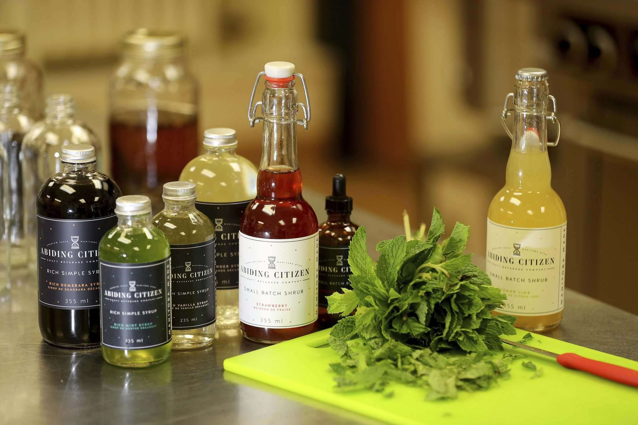 Bitters get their flavour from a blend of herbs, barks, roots and fruit. (Trevor Hagan / Winnipeg Free Press)</p>