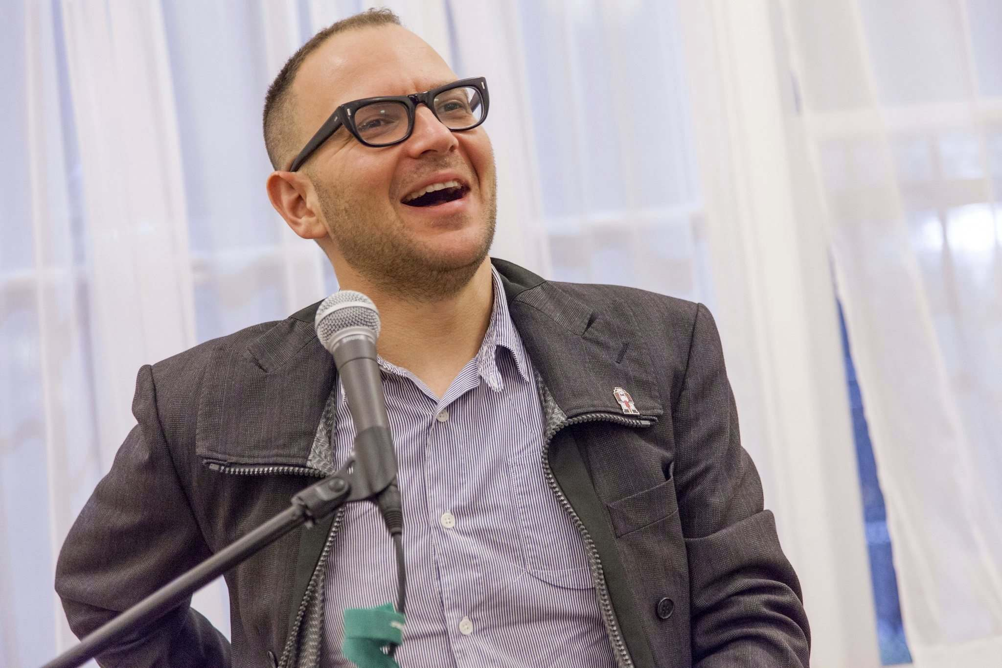 Alex Schoenfeldt photo</p><p> Cory Doctorow draws a convincingly realistic world.</p>
