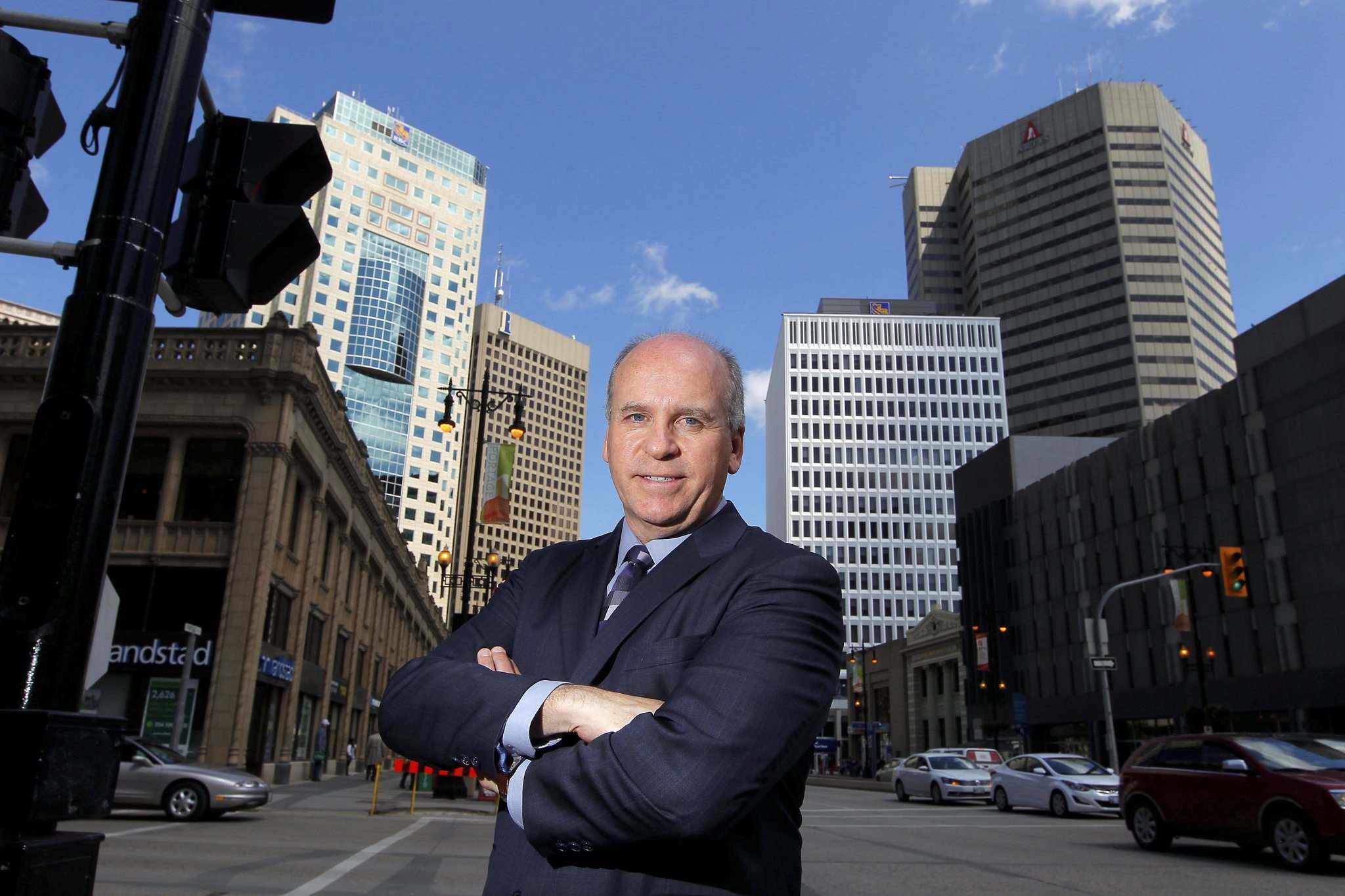 BORIS MINKEVICH / WINNIPEG FREE PRESS FILES</p><p>Dave Angus former president and CEO of the Winnipeg Chamber of Commerce.</p>