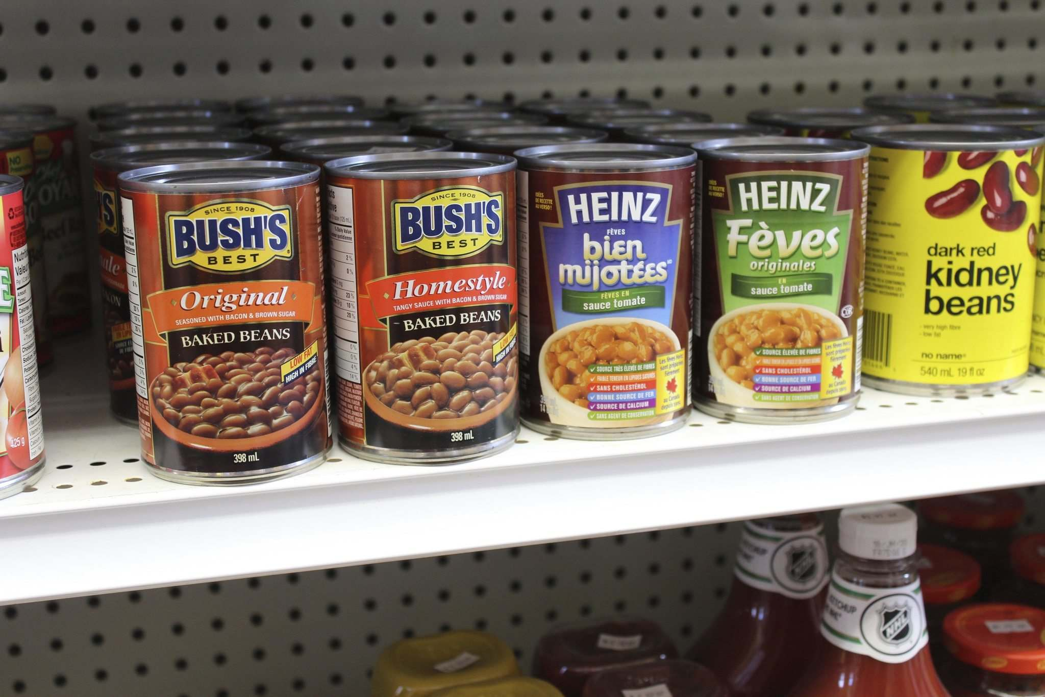 </p></p><p>Of course, every general store has to have tins of baked beans.</p>