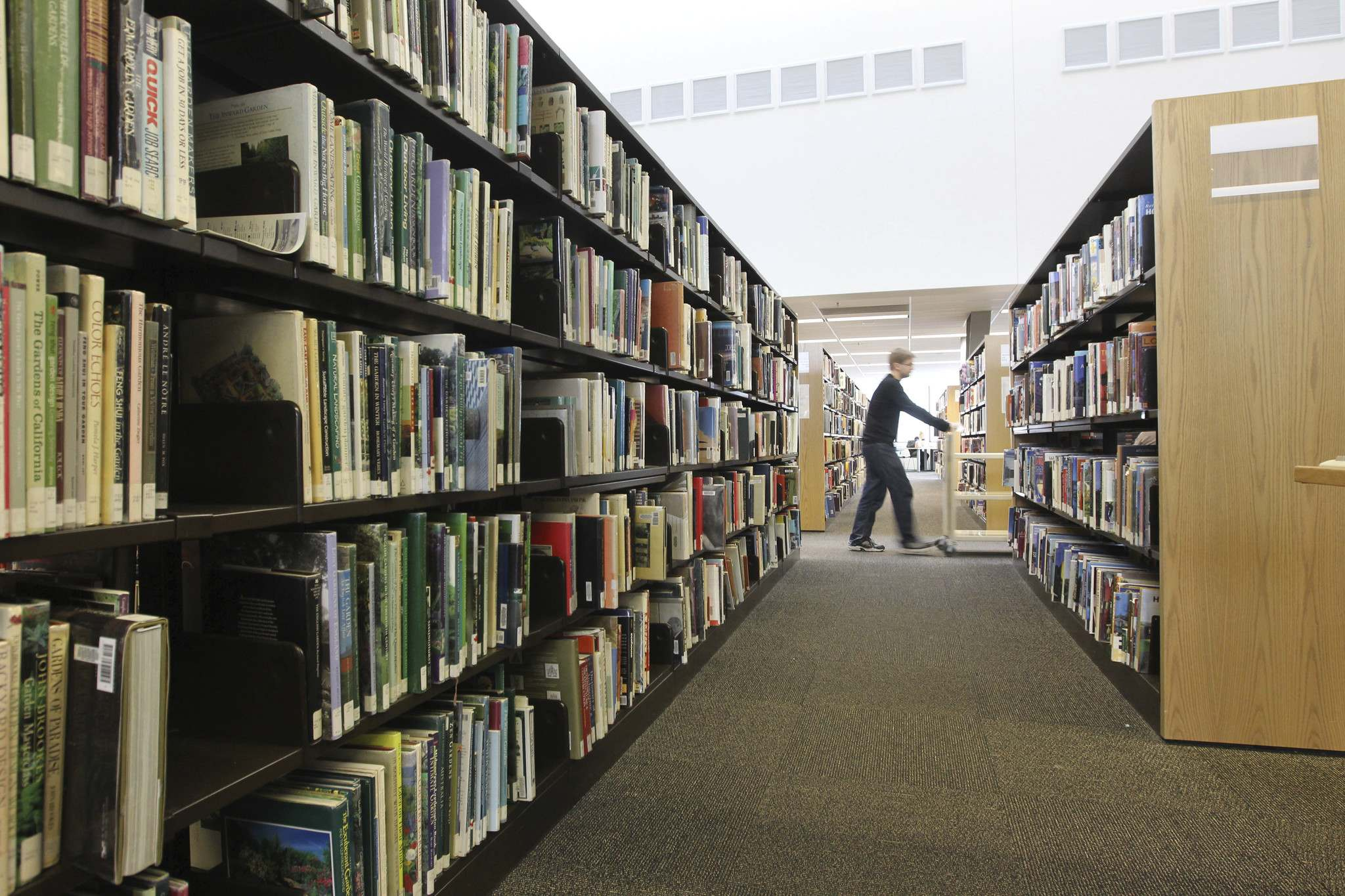 TREVOR HAGAN / WINNIPEG FREE PRESS FILES</p><p>Winnipeg&#39;s is the only major library system in Canada that charges for borrowing regular material, namely DVDs.</p>