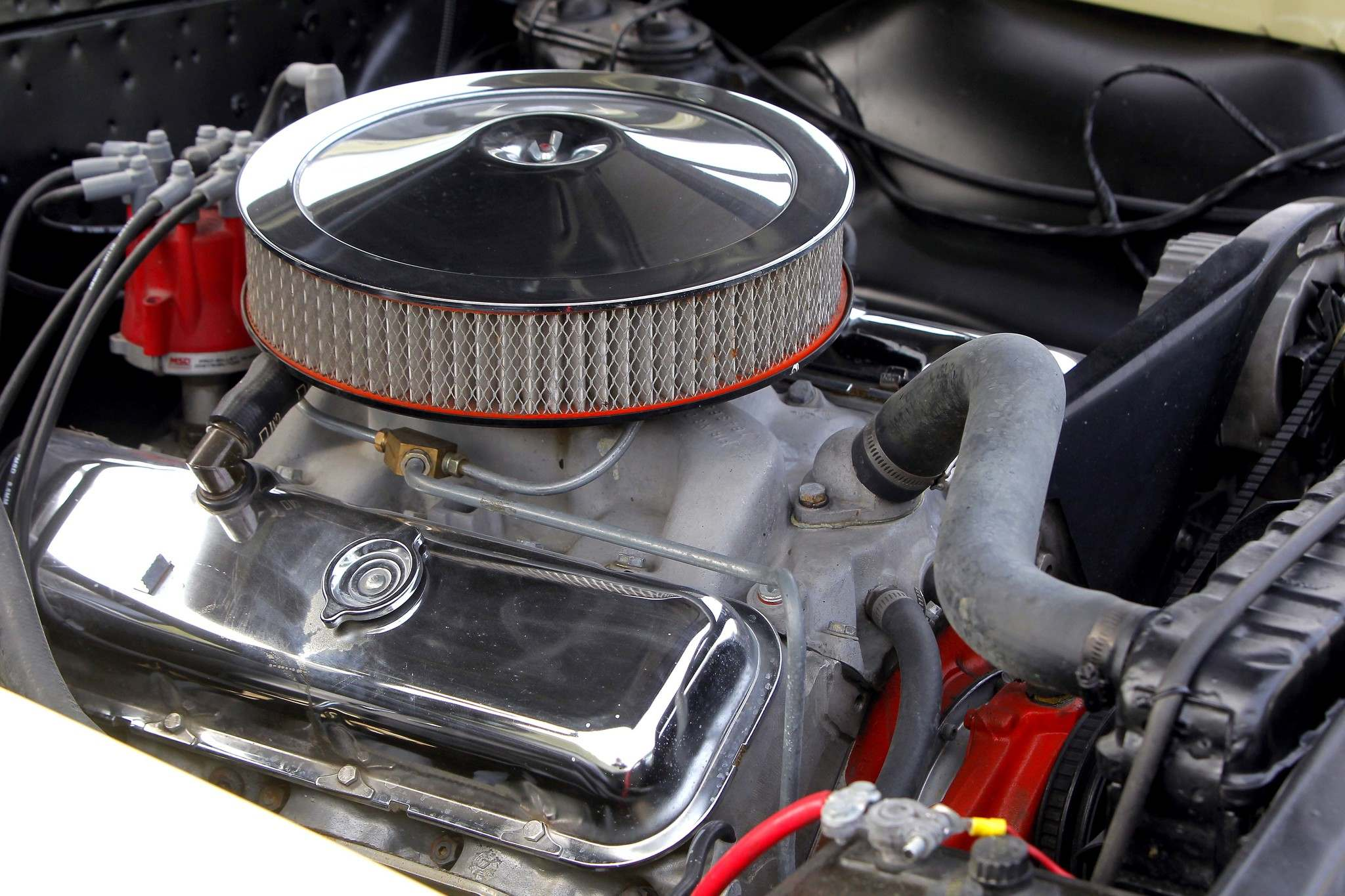 The '66 El Camino packs a real punch under its hood.