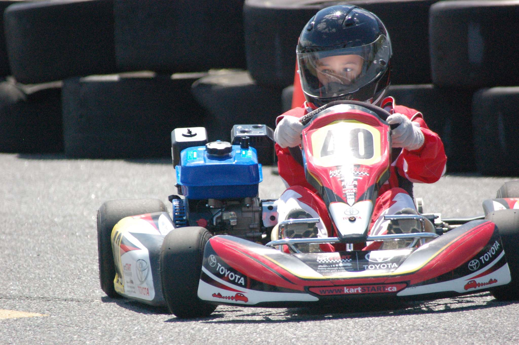 <p>Supplied</p><p>In the kartSTART program, children ages 10 and up learn about the physics of motorized vehicles and also get behind the wheel.</p></p>
