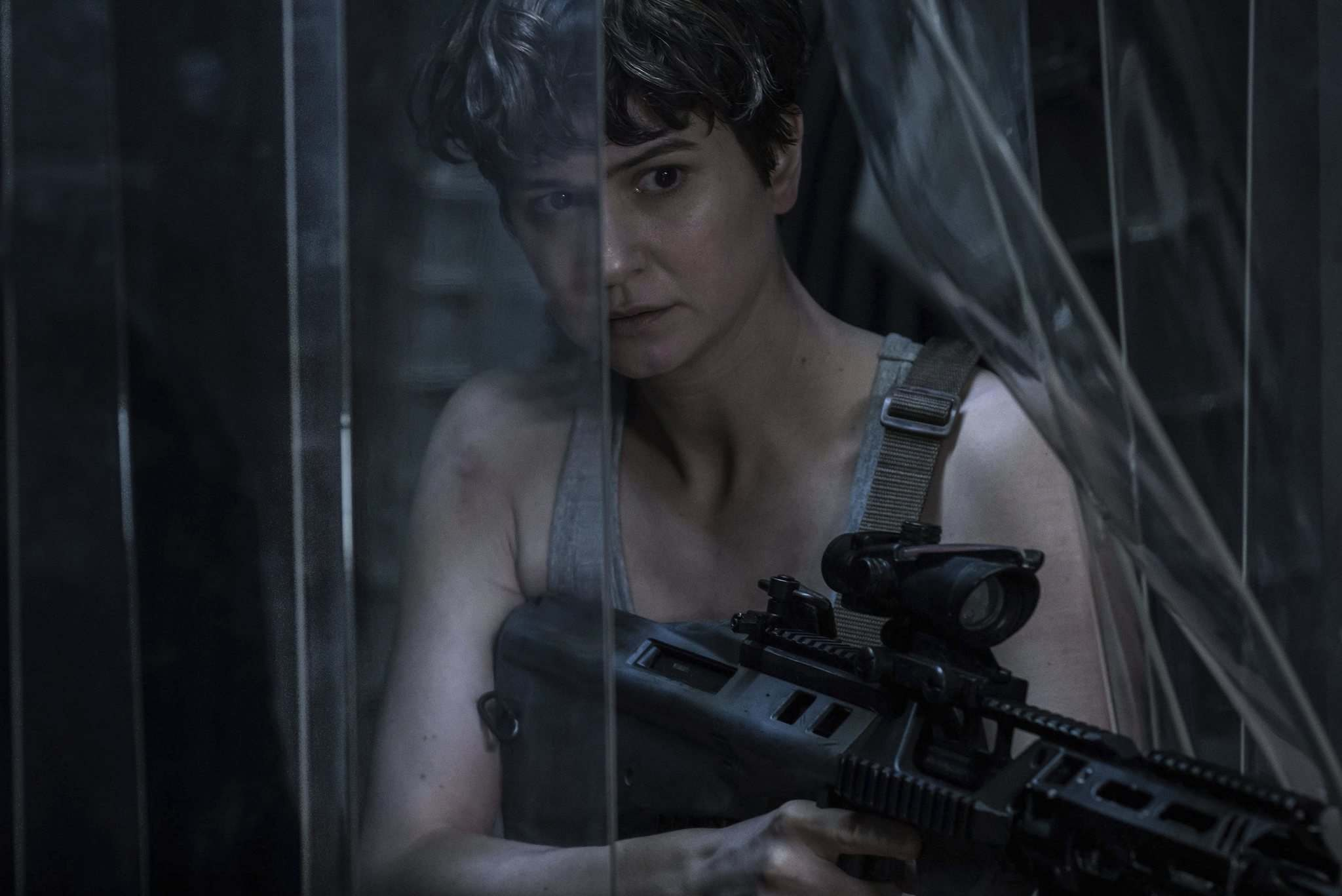 Mark Rogers / Twentieth Century Fox</p><p>Katherine Waterston, as Daniels in Alien: Covenant, is a capable throwback to Sigourney Weaver&rsquo;s character in the original films.</p>