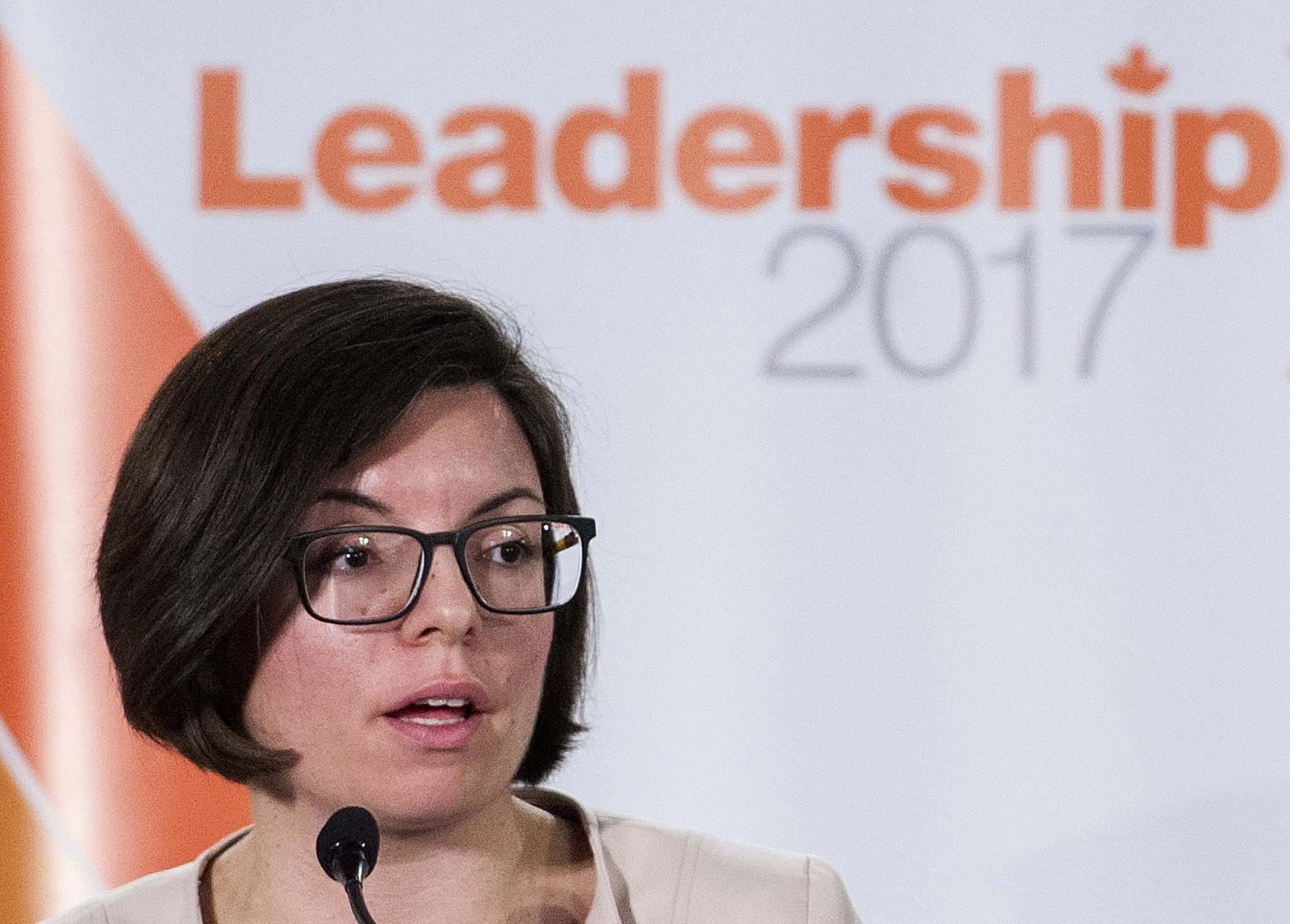 Graham Hughes / The Canadian Press files</p><p>Manitoba MP and NDP leadership candidate Niki Ashton during a leadership debate in Montreal.</p>