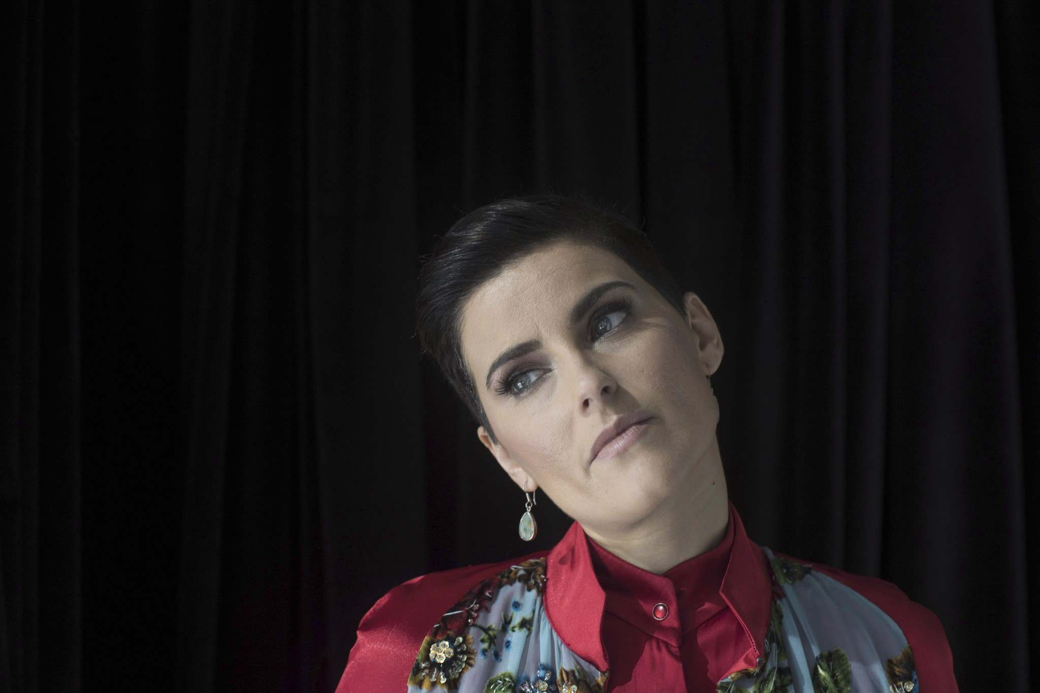 """CHRIS YOUNG / THE CANADIAN PRESS FILES</p><p>Singer/Songwriter Nelly Furtado is pictured in Toronto as she promotes her new album """"The Ride"""" on Wednesday, March 8, 2017.</p>"""