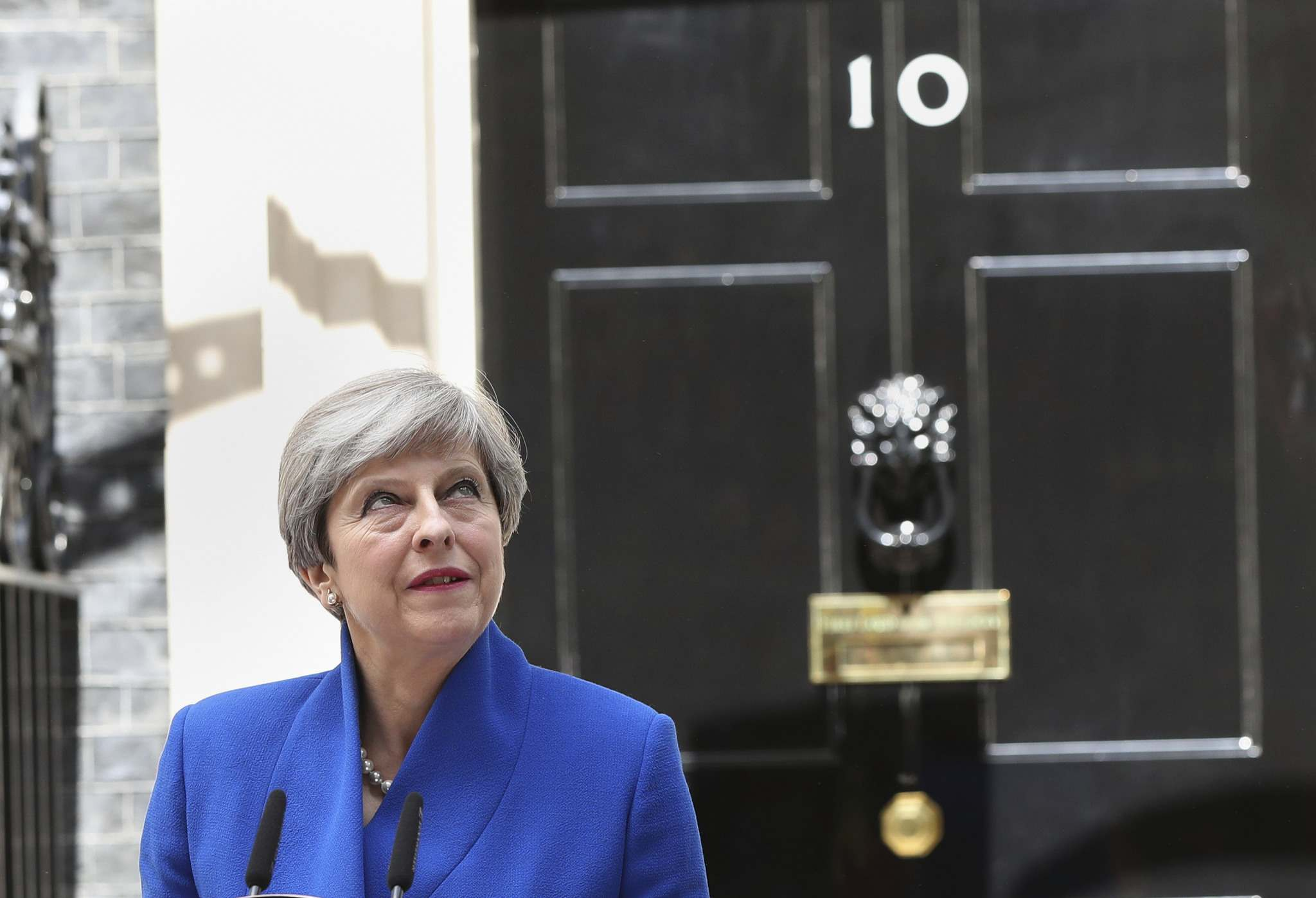 JONATHAN BRADY / THE ASSOCIATED PRESS</p><p>Prime Minister Theresa May's gamble in calling an early election backfired spectacularly as her Conservative Party lost its majority in Parliament, throwing British politics into chaos.</p>
