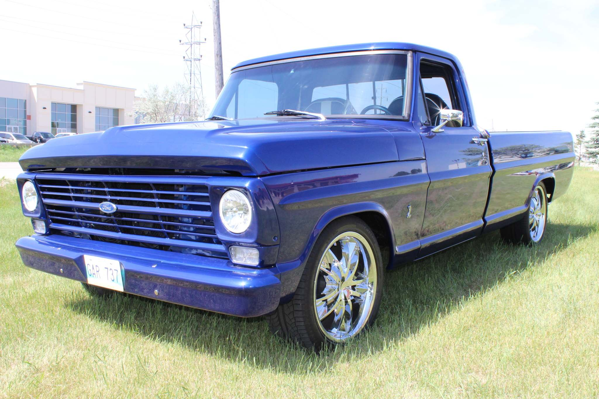 Larry D'Argis / WINNIPEG FREE PRESSPurchased new in 1967, this Ford F100 was a one-family owned truck that was passed down to the owner's grandson. It was purchased by Winnipeg's Khartum Shriners as a prize for their annual fundraising draw.