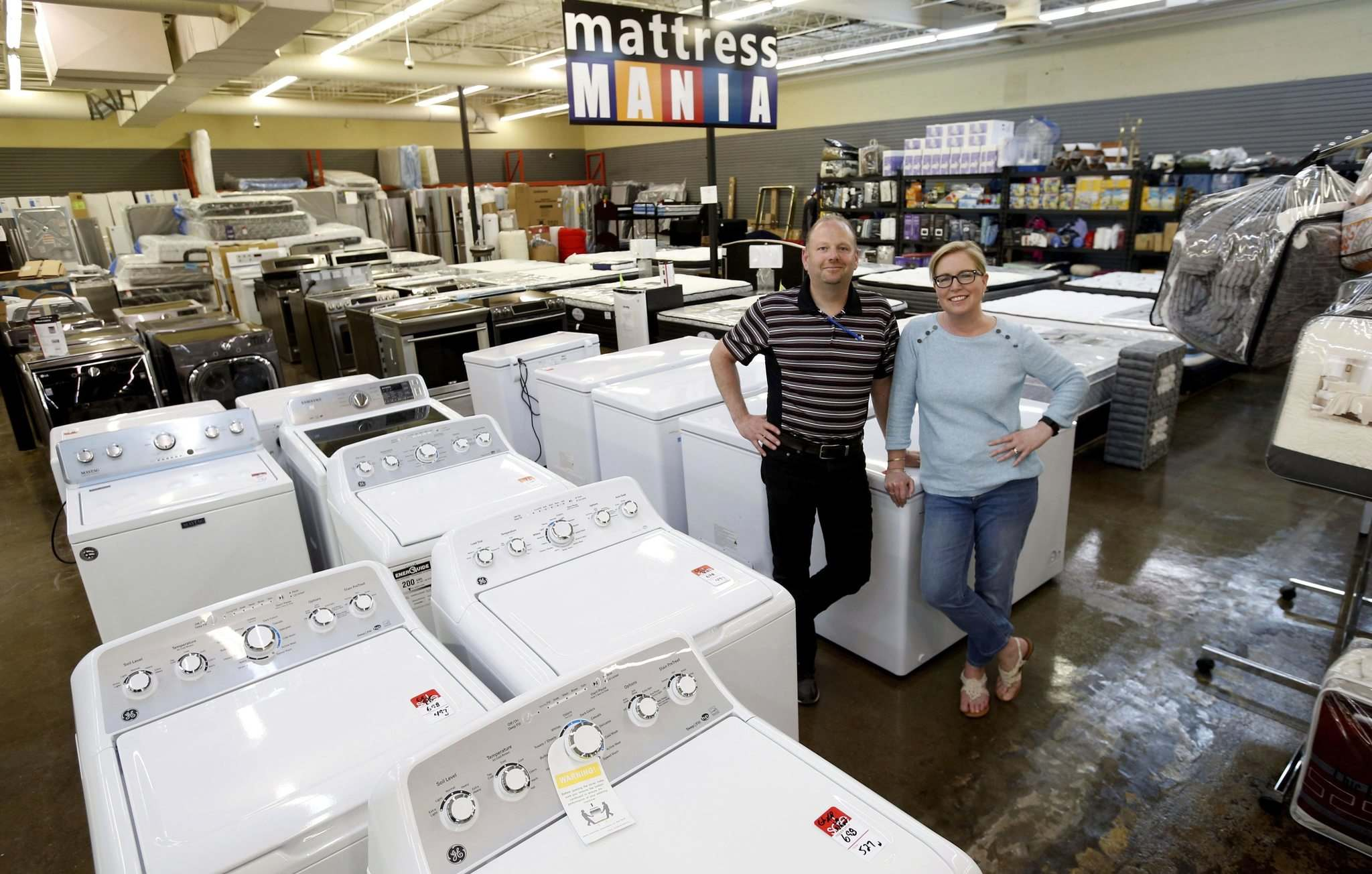 WAYNE GLOWACKI / WINNIPEG FREE PRESS</p><p>Doug and Tracey Creighton are opening a second wholesale retail space, called Direct Liquidation Winnipeg, after it became clear their first, Primary Wholesale and Liquidation, wasn&rsquo;t big enough to meet their customers&rsquo; demand.</p>