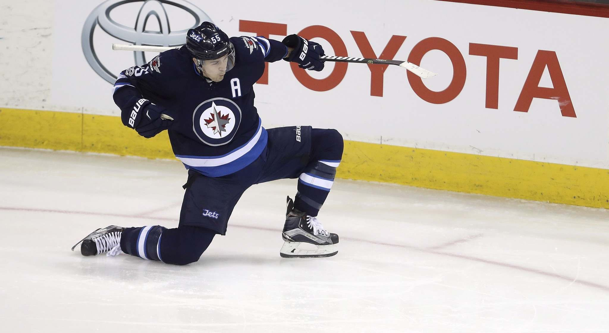 TREVOR HAGAN / THE CANADIAN PRESS FILES</p><p>Mark Scheifele will remain a member of the Winnipeg Jets after he was protected by the team. </p>
