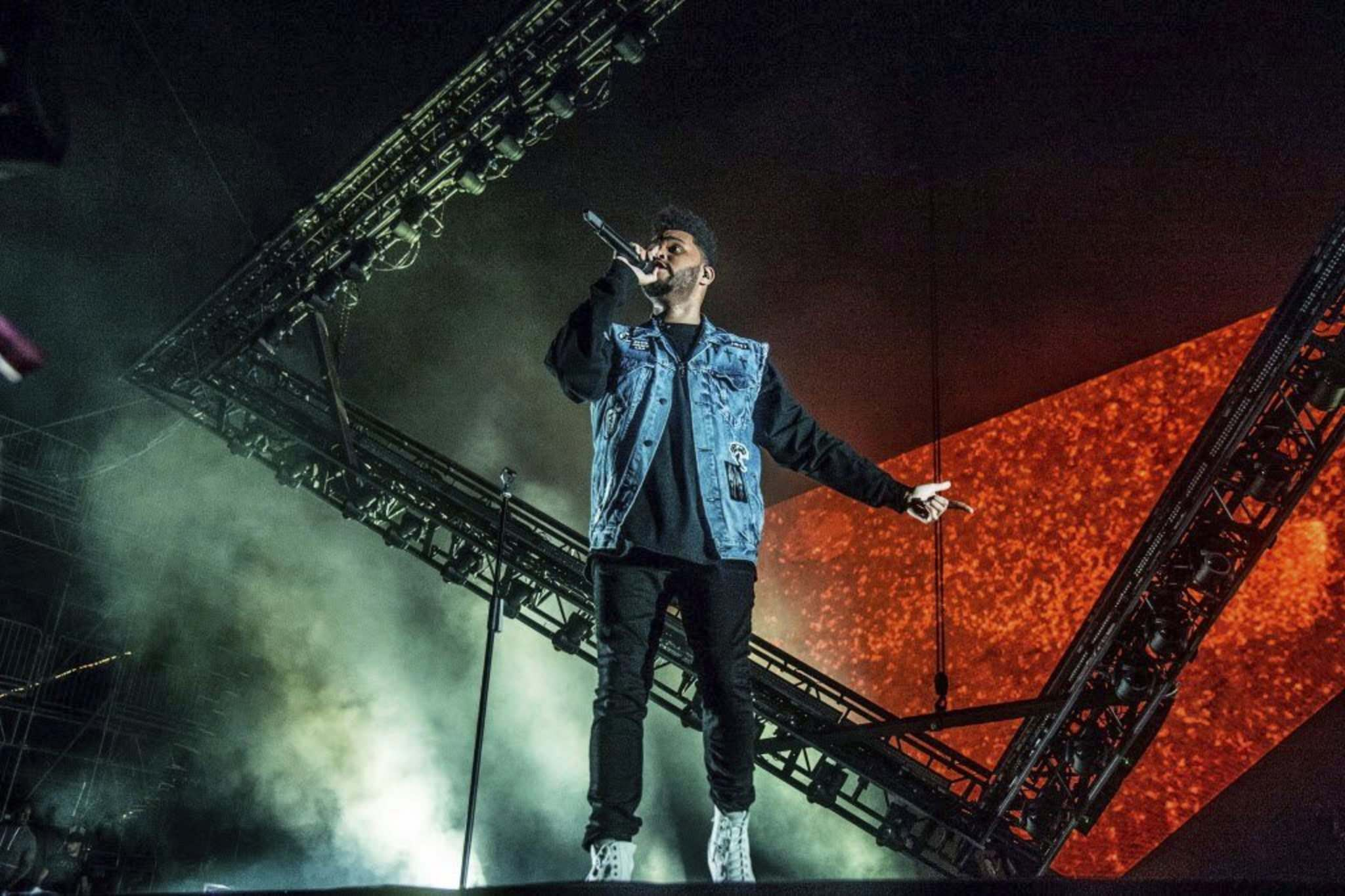 Amy Harris / Invision</p><p>The Weeknd performs at the Bonnaroo music festival in Tennessee on June 11. His success around the world shows CanCon regulations are not always necessary to create Canadian music stars.</p></p>