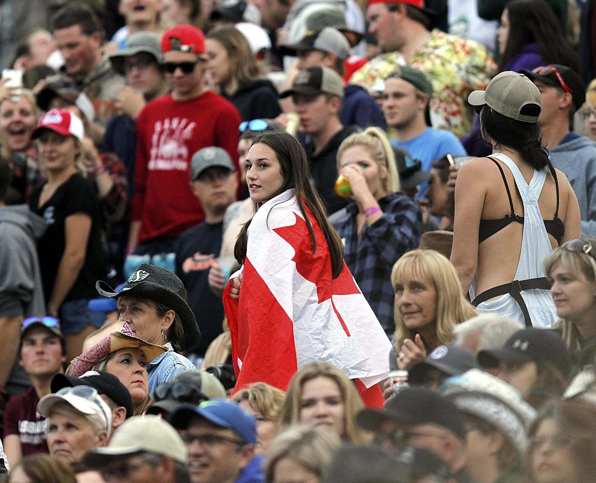 PHIL HOSSACK / WINNIPEG FREE PRESS</p><p>Dauphin&#39;s Countryfest at the Selo Ukraina amphitheatre was the place to be for music fans and flag-brandishers alike.</p>