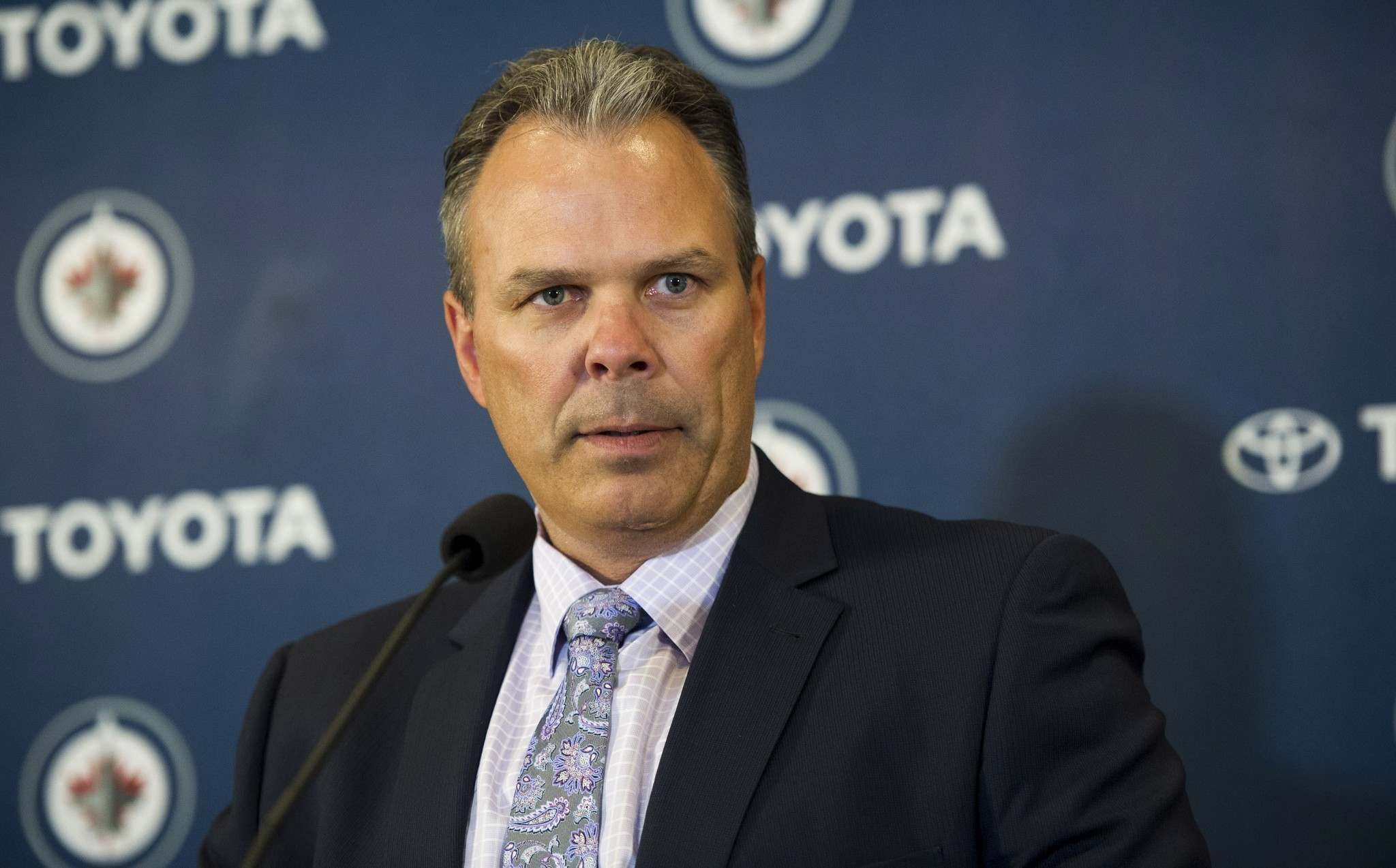 DAVID LIPNOWSKI / THE CANADIAN PRESS FILES</p><p>Winnipeg Jets general manager Kevin Cheveldayoff opted to make a couple of small free-agent signings rather than being more aggressive. </p>
