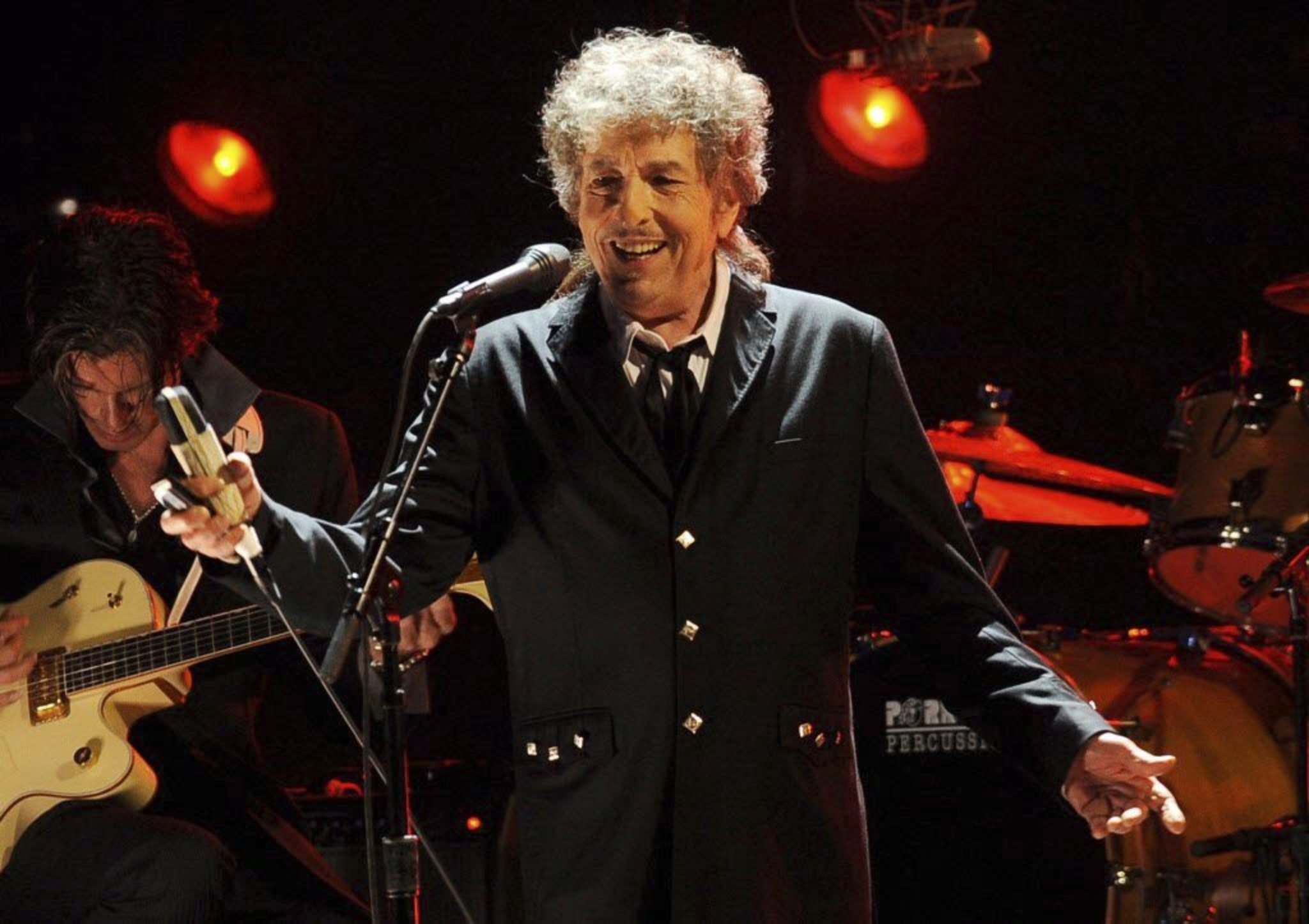 Trying to pin down the reasons why Bob Dylan's fans attend his concerts over and over is as complicated as the man himself. (Chris Pizzello / The Associated Press files)