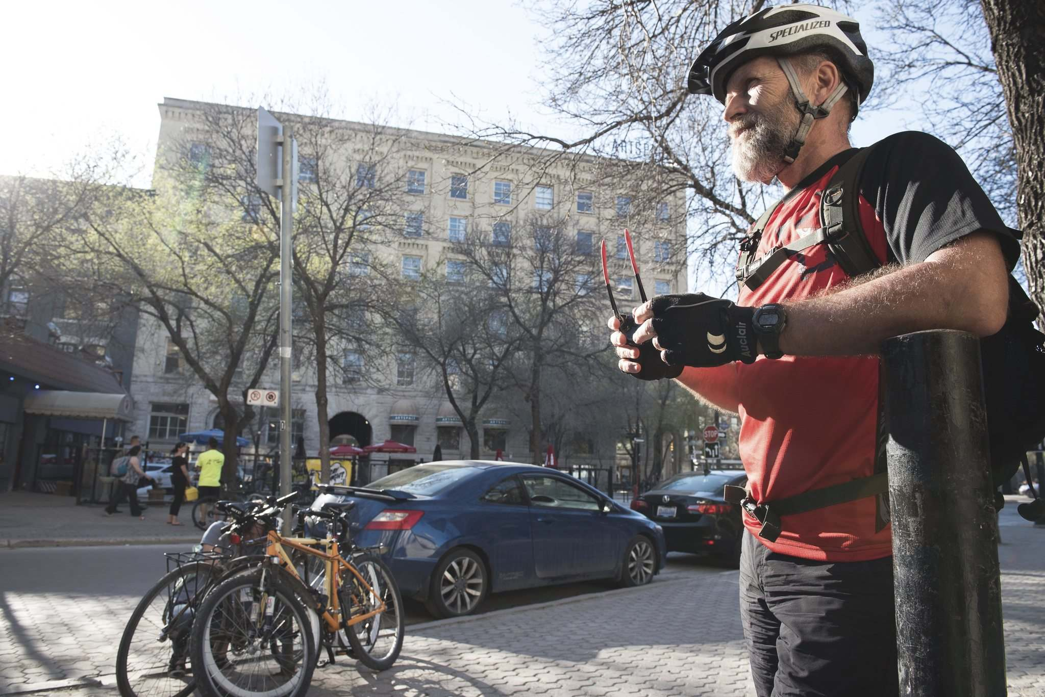 Jim Thomas, a long-time cycling proponent in Winnipeg, believes Bike Jam not only promotes a mode of trasportation, it builds community.</p>