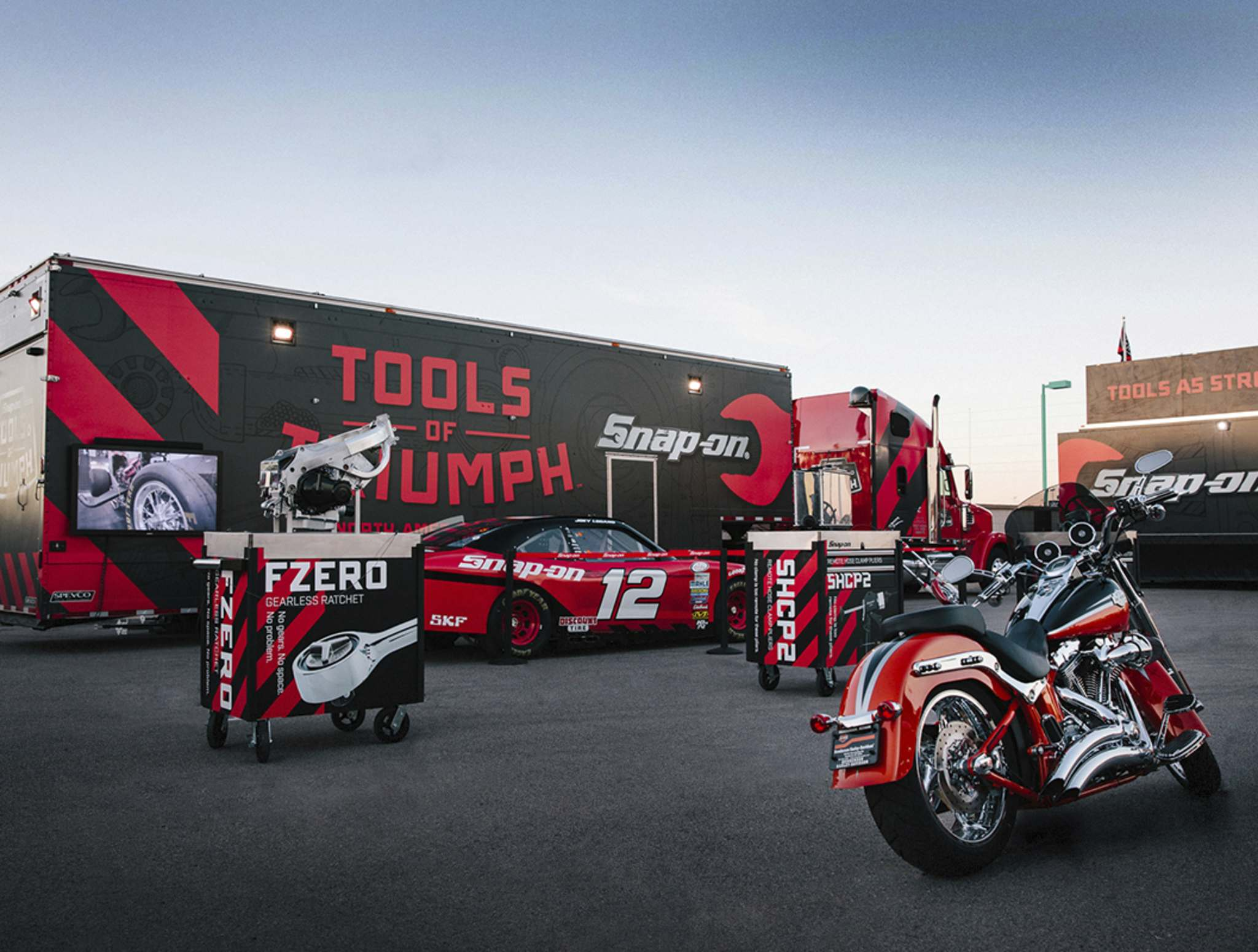 SuppliedThe Snap-on Tools of Triumph event is coming to Winnipeg on Tuesday, bringing with it the promise of great fun.