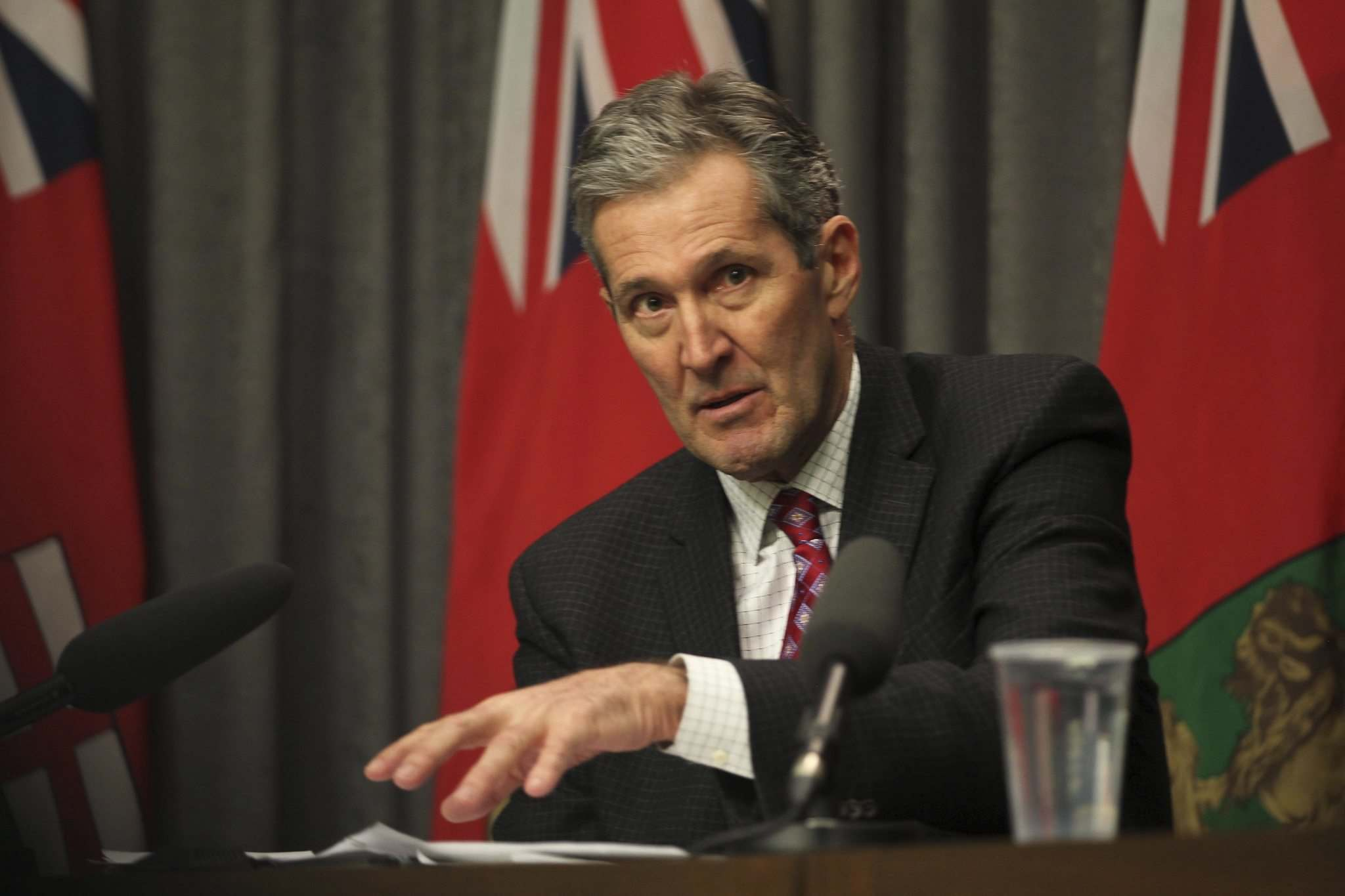 RUTH BONNEVILLE / WINNIPEG FREE PRESS</p><p>Premier Brian Pallister has stated that Bill 28 will save the province more than $100 million.</p>