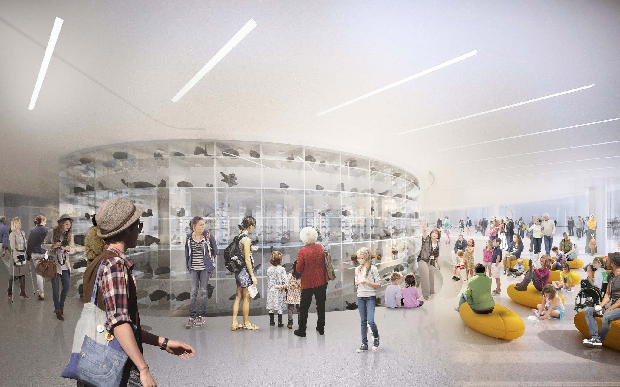 HANDOUT / THE CANADIAN PRESS FILES</p><p>An artist's rendition of a planned Inuit Art Centre in Winnipeg is shown in a handout photo. Winnipeg's art gallery is trying to carve out space to house what's believed to be the world's largest collection of Inuit art - only a fraction of which is ever on display. </p>