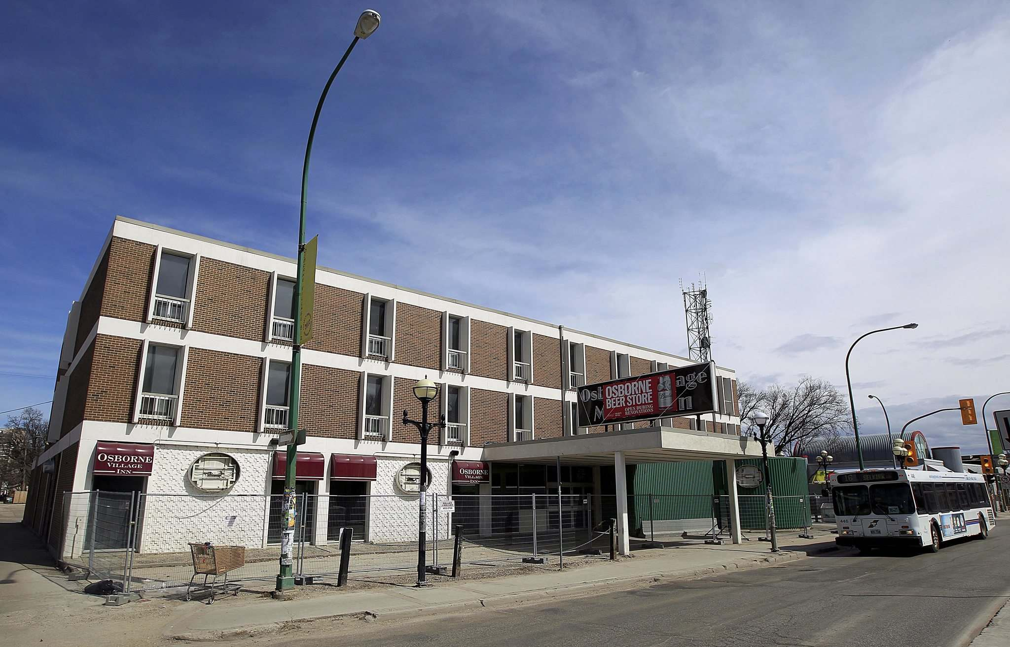 PHIL HOSSACK / WINNIPEG FREE PRESS files</p><p>Restaurants and office space will call the Osborne Village home once renovations are done. A plan to install micro-apartments was scrapped.</p></p>
