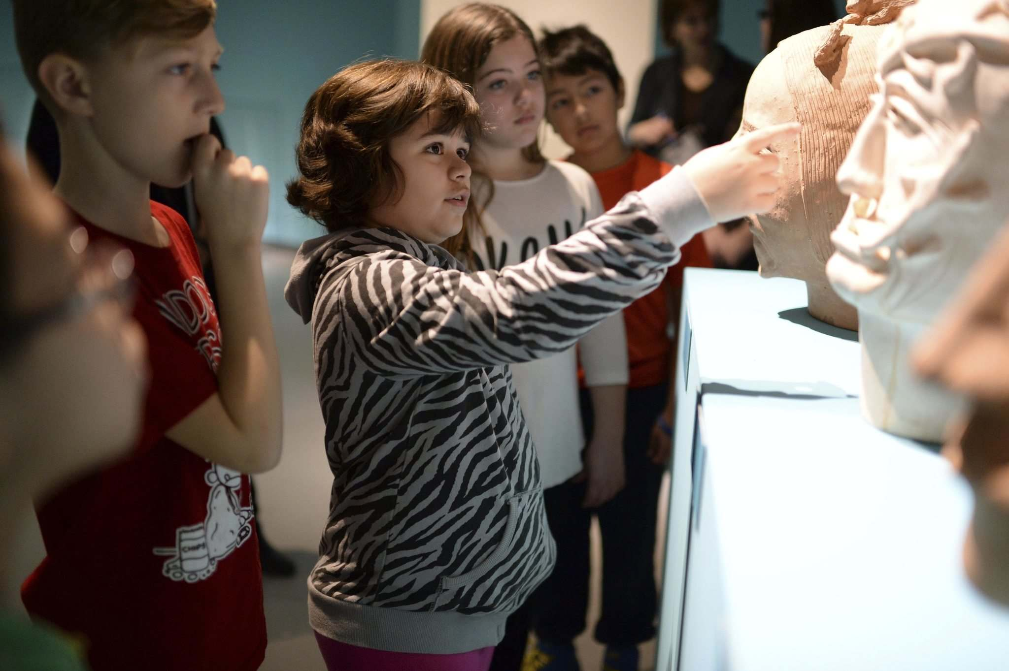 Eric Au </p><p>Grade 5 students from &#201;cole Neil Campbell School touring Indigenous art exhibitions at the WAG earlier this year.</p>