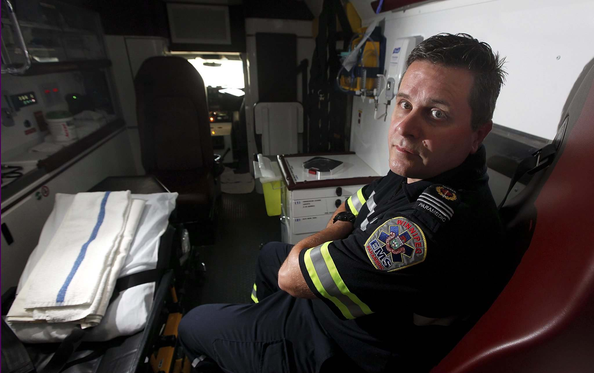 Kevin Martin, a city paramedic is back at work after dealing with PTSD.