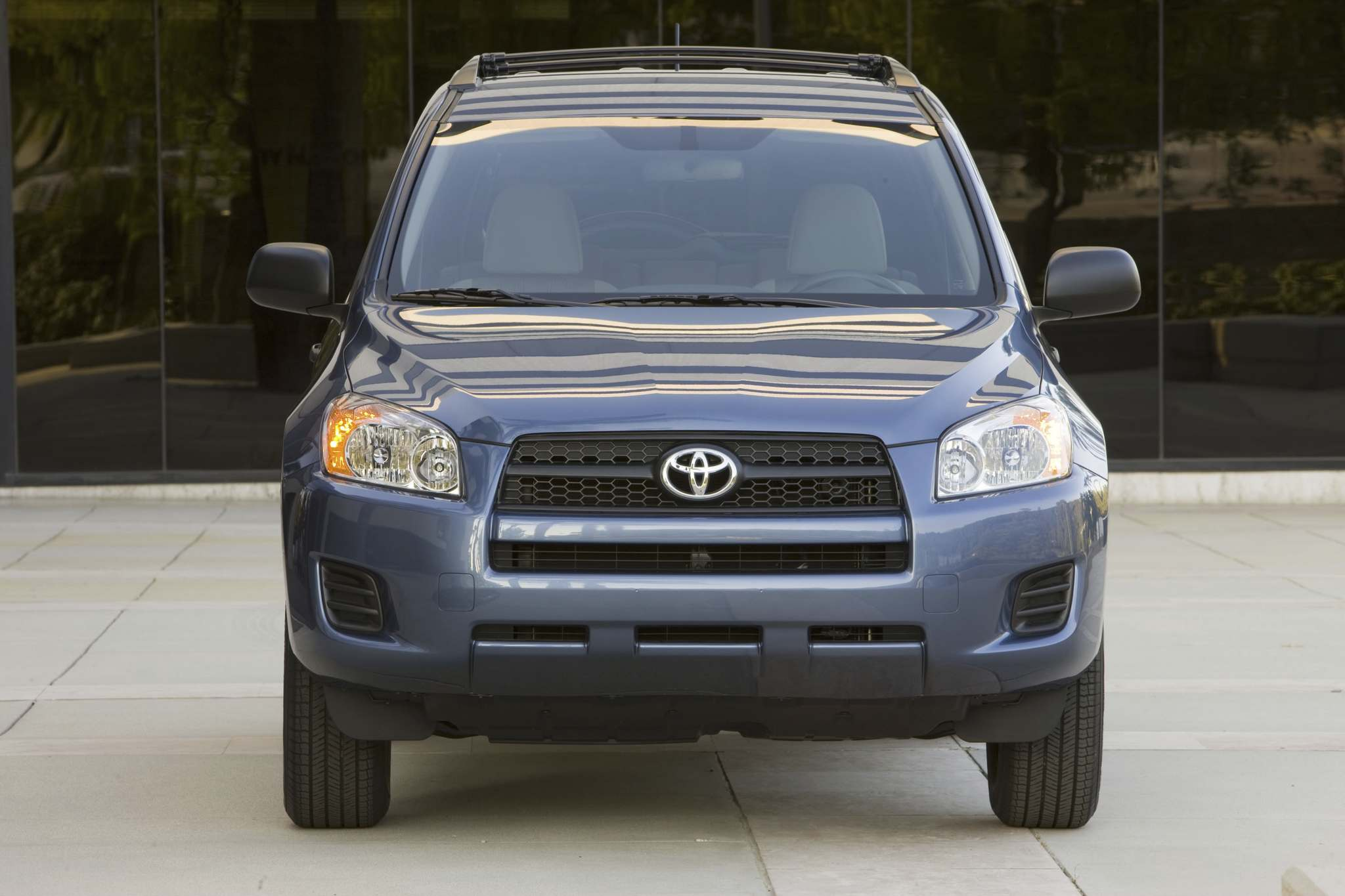 A handout photo of the 2010 Toyota RAV4. CREDIT: TOYOTA