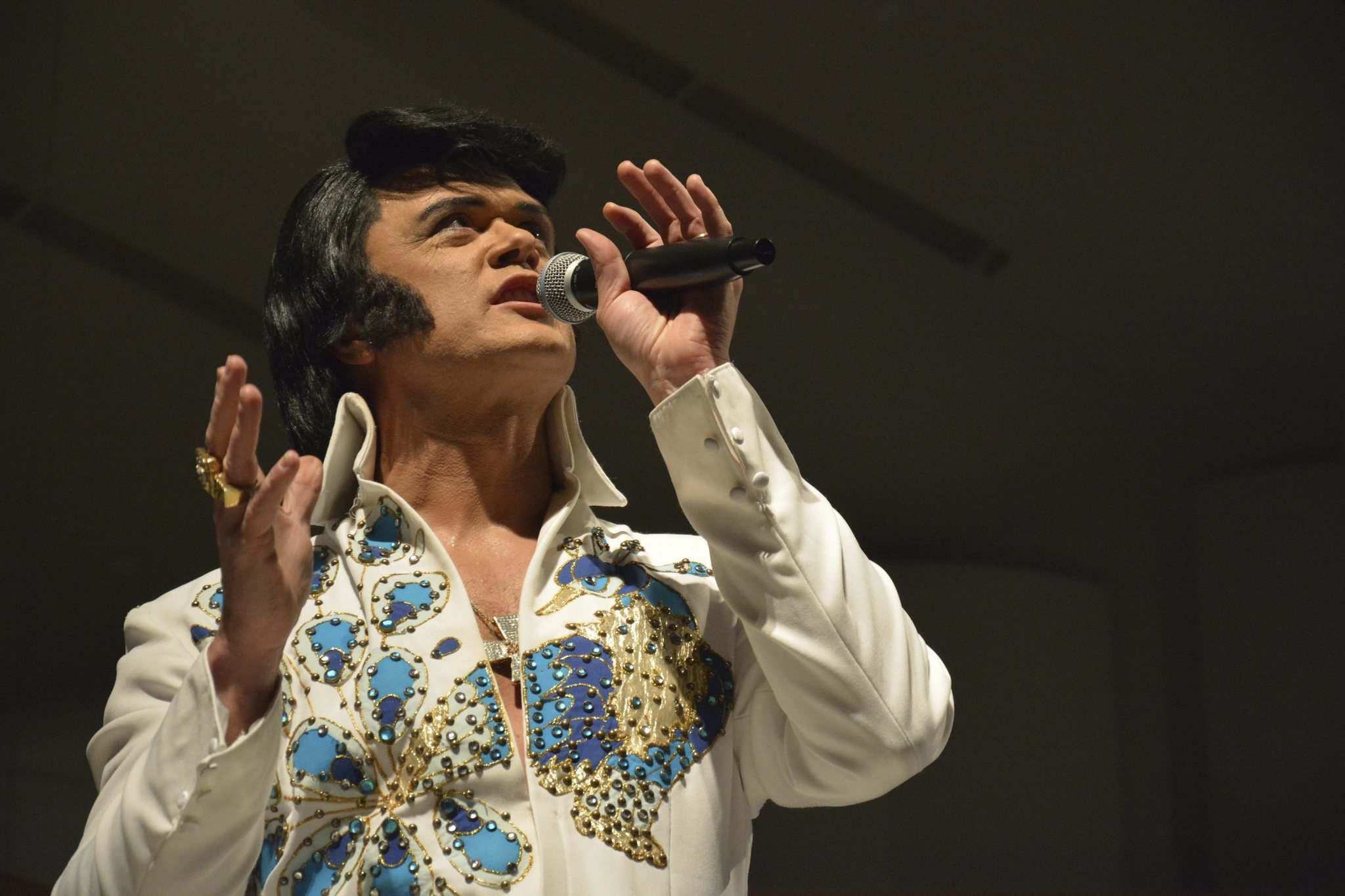 Elvis impersonator Corny Rempel will perform at the Manitoba Elvis Festival in Gimli this weekend.
