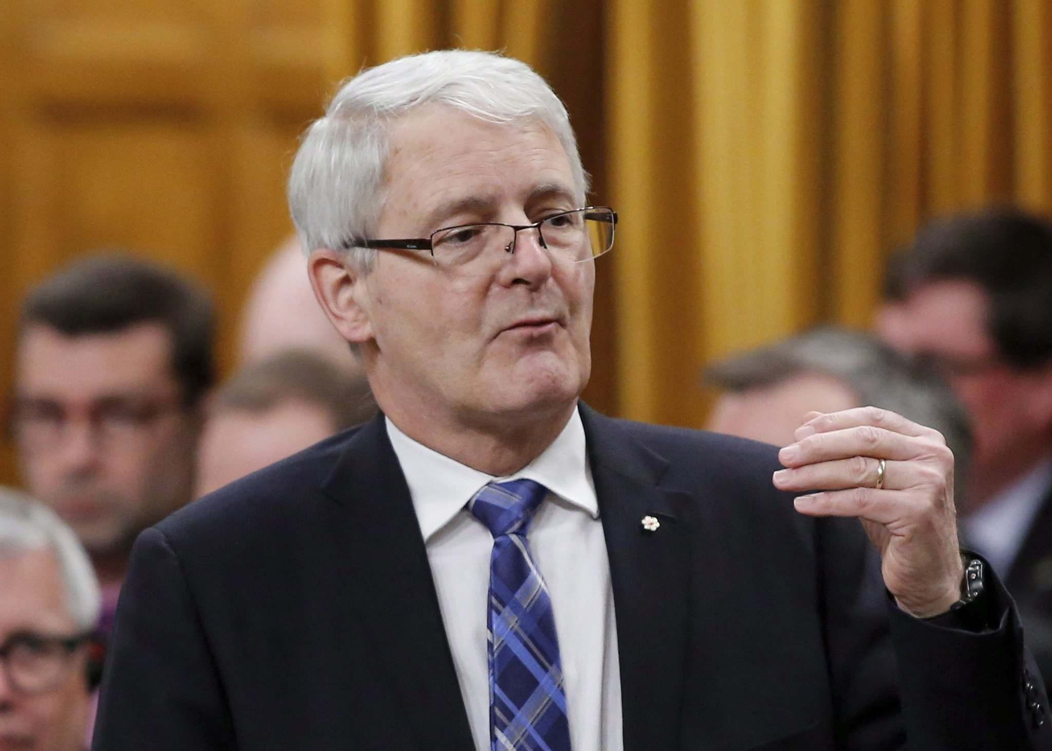 Patrick Doyle / The Canadian Press Files</p><p>Transport Minister Marc Garneau shows no inclination to hold CN to account for VIA Rail's scheduling problems.</p>