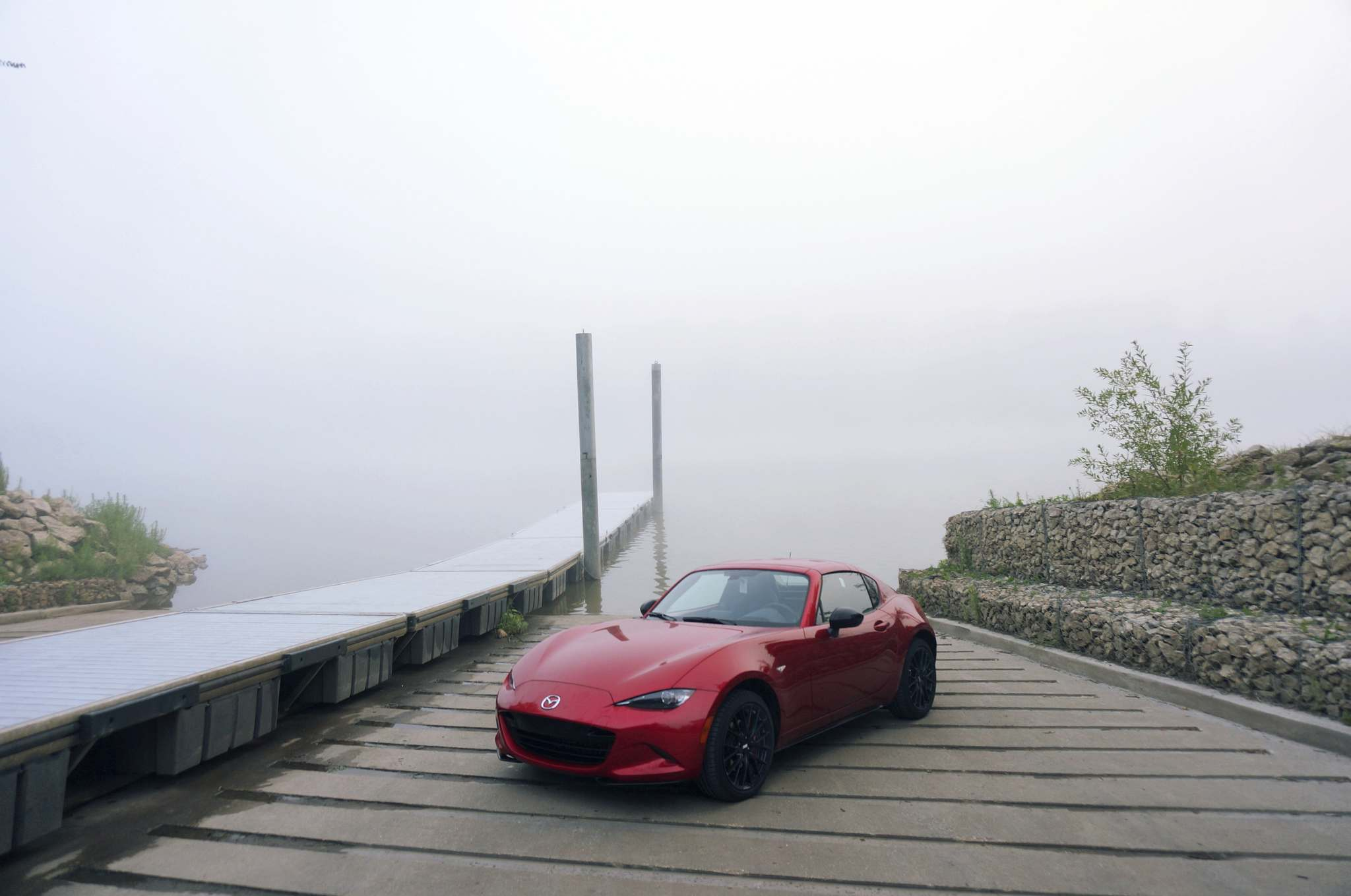Haney Louka / Winnipeg Free PressThe MX-5 RF doesn't look like anything else on the road — the new bodywork gives it a strikingly exotic profile.