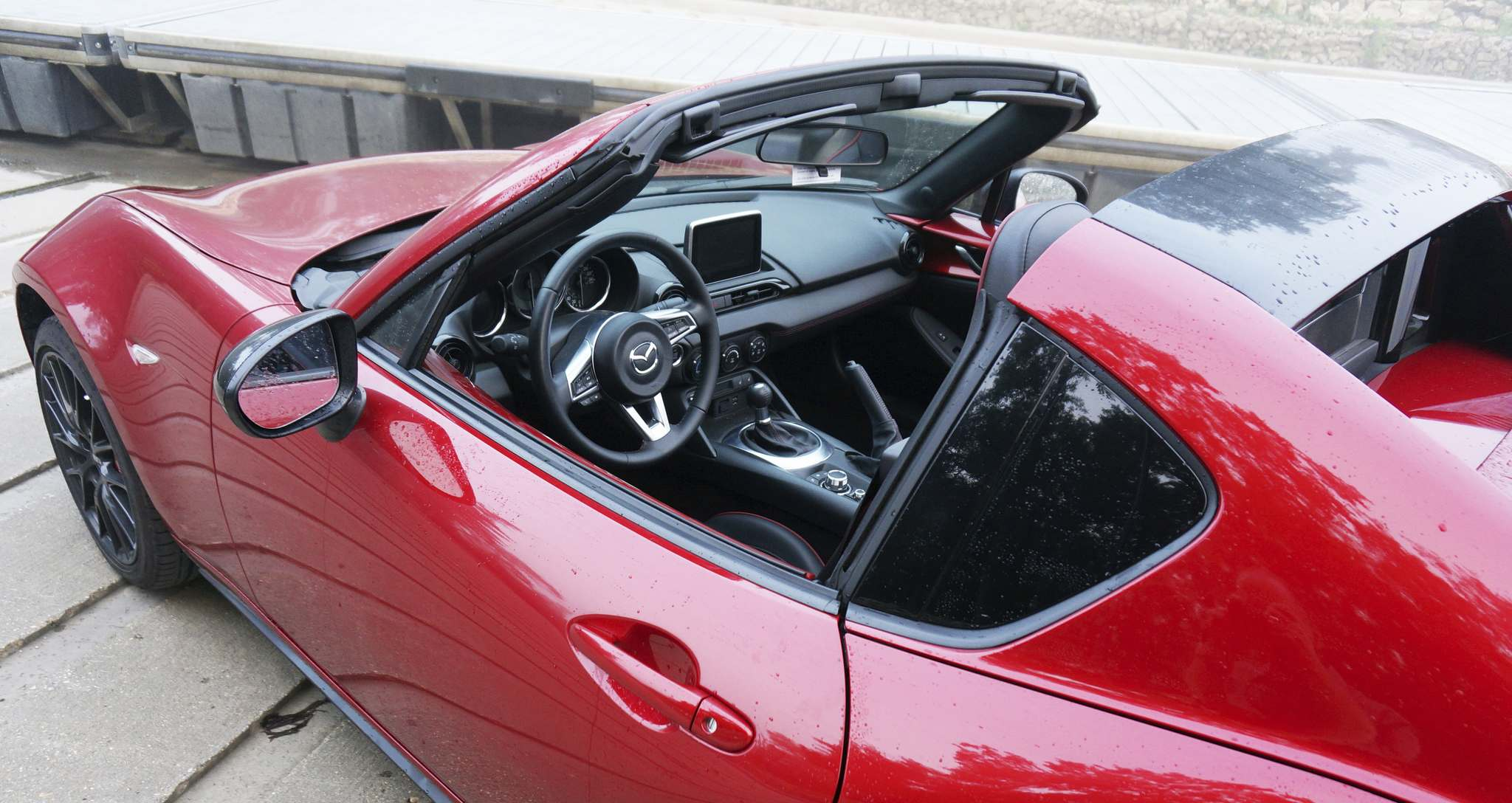 It's all about responsiveness with the MX-5.