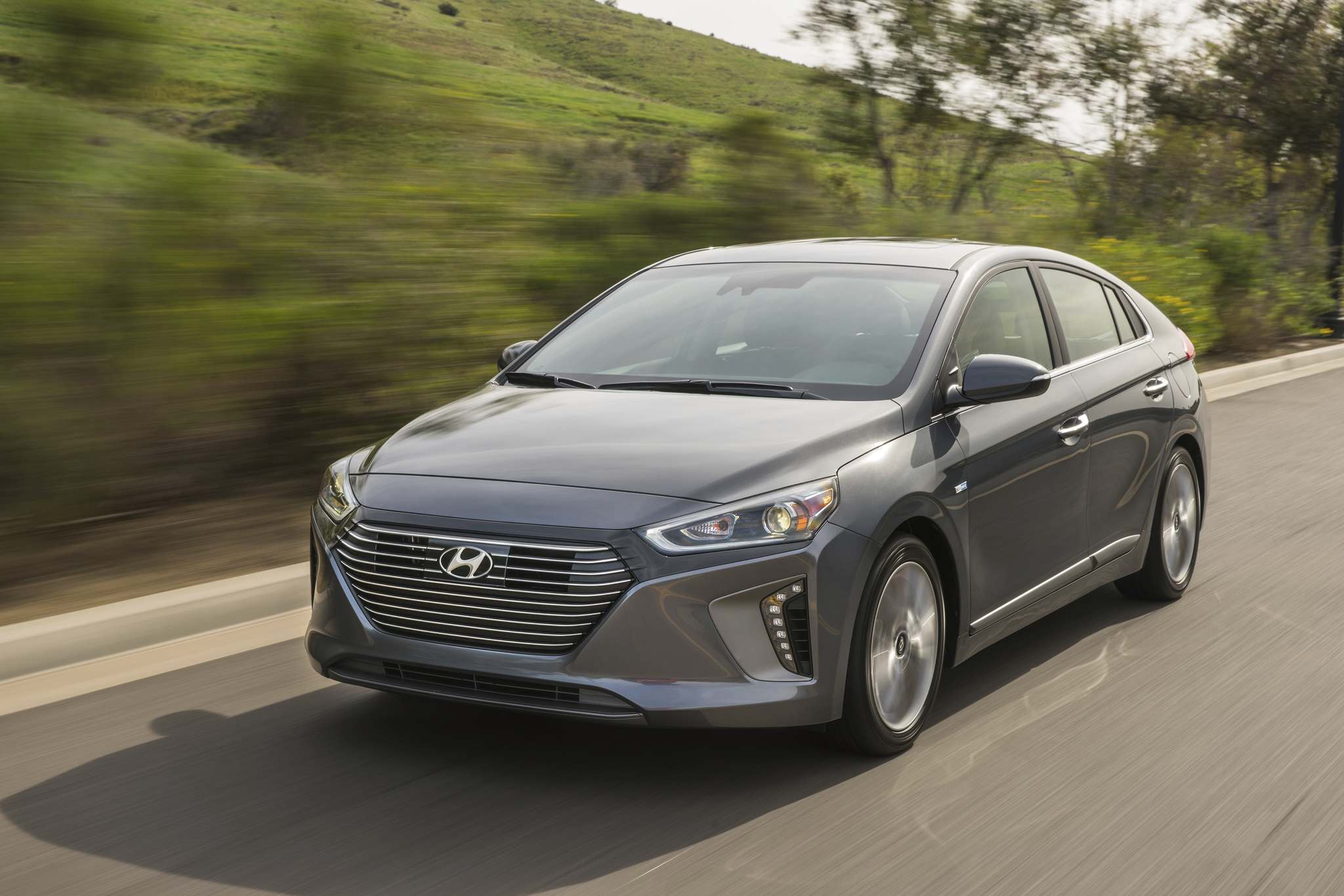 The Ioniq starts at $24,299 and comes fairly well-equipped at the base price. (Hyundai)