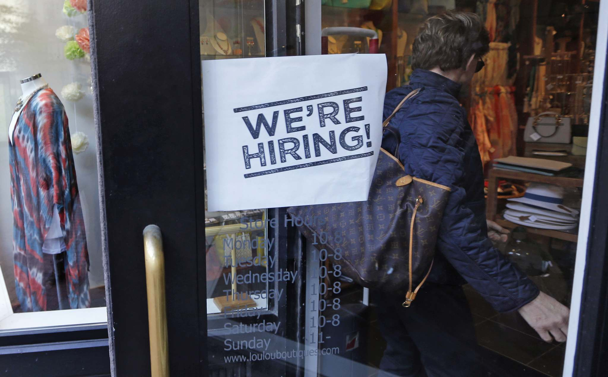 Charles Krupa / The Associated Press Files</p><p>The local economy posted a net gain of only 300 new jobs in July, but 300 workers also dropped out of the provincial labour force during the month. That left 683,200 people in the workforce — 649,400 of them employed.</p></p>