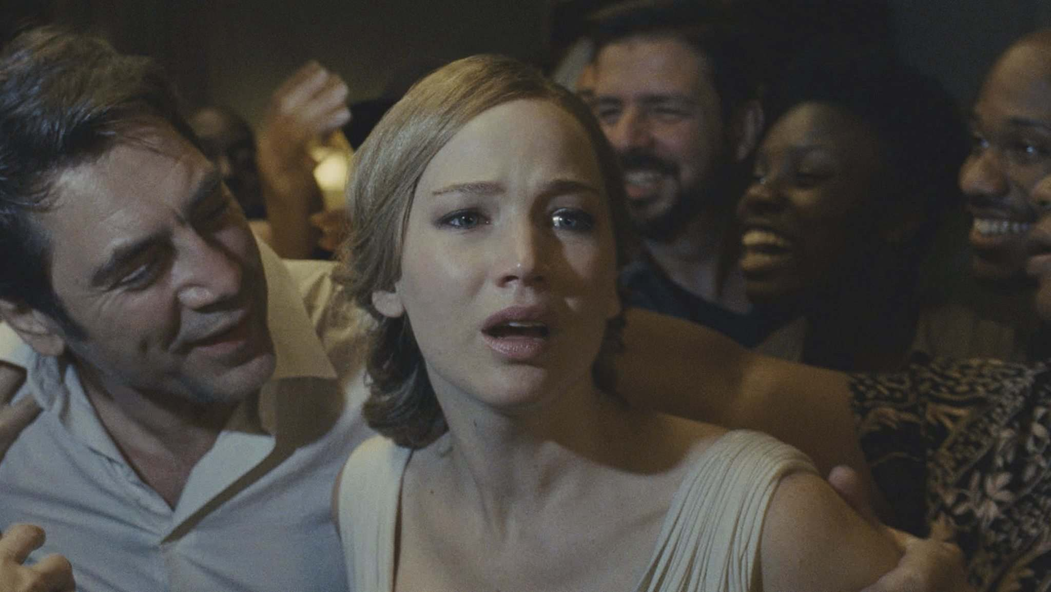 Paramount Pictures</p><p>Javier Bardem and Jennifer Lawrence star in the thriller mother!.</p>
