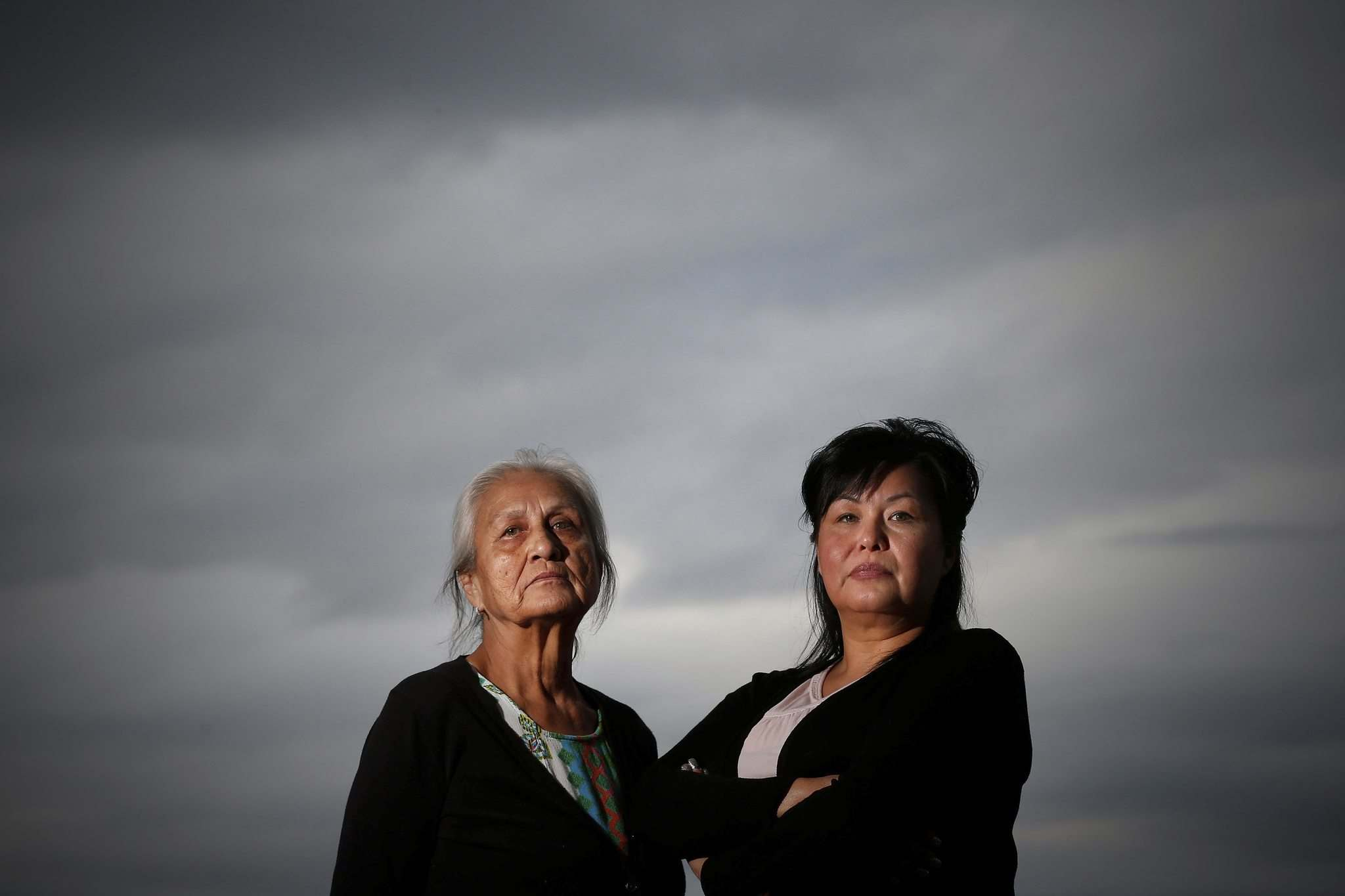 JOHN WOODS / WINNIPEG FREE PRESS</p><p>Above: Wendy Bird (left) and Melanie Hart, Tara Hart's mother and sister, allege Wab Kinew continues to lie about assaults on Tara 14 years ago.</p></p>