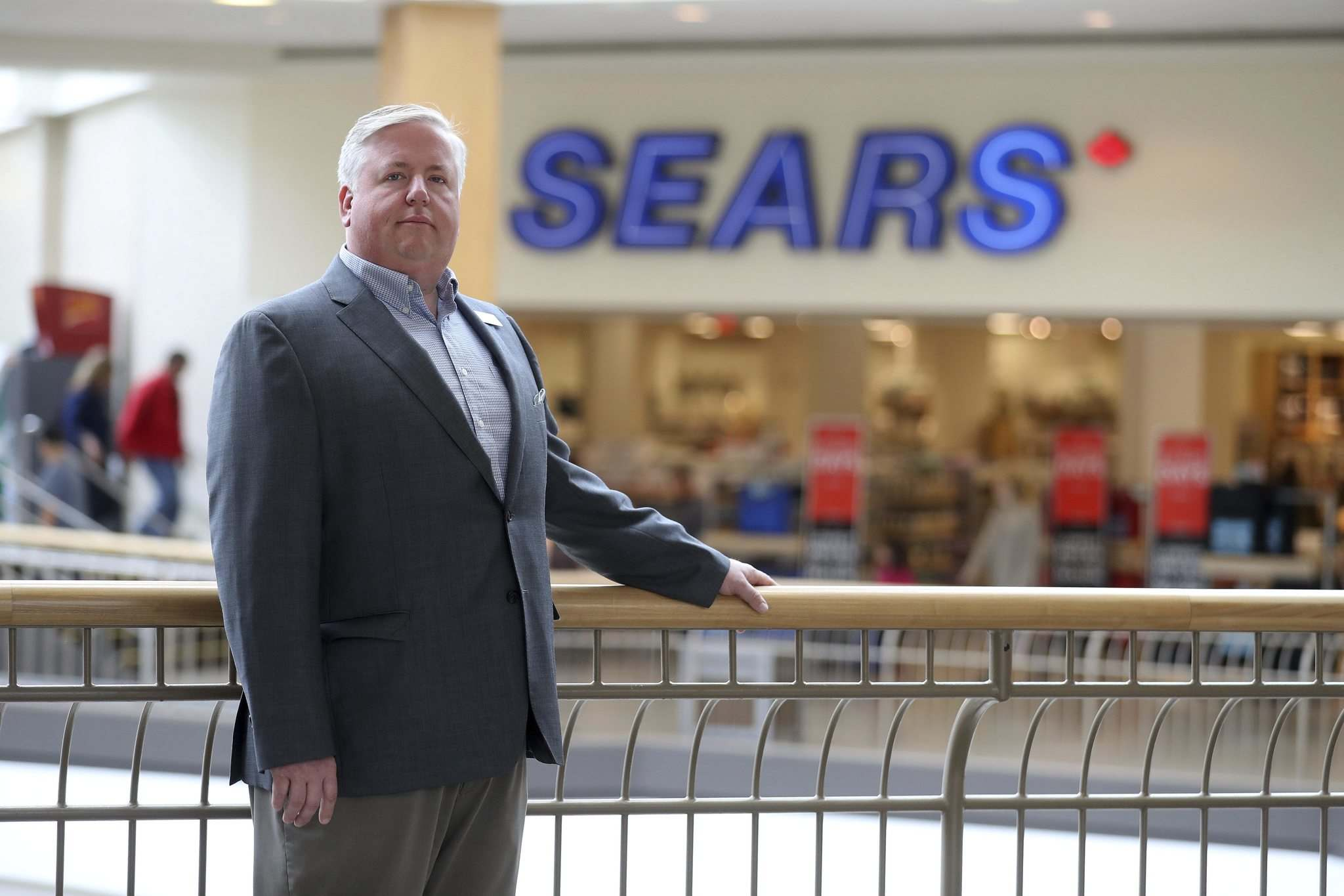 TREVOR HAGAN / WINNIPEG FREE PRESS</p><p>CF Polo Park general manager Peter Havens says subdividing the Sears space would enable the mall to add a number of new retail tenants.</p>