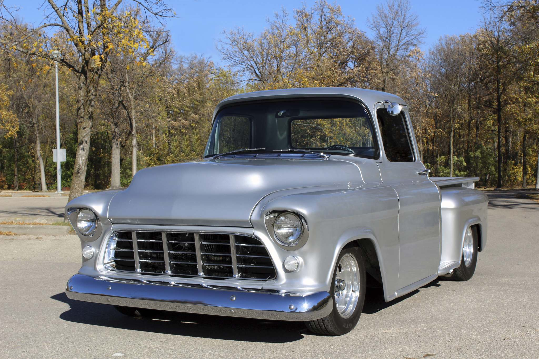 Photos by Larry D'Argis / Winnipeg Free PressDan Lemoine has owned his 1956 Chevrolet since the early 1990s, and after six years of refining the vehicle, it became a great summer driver.
